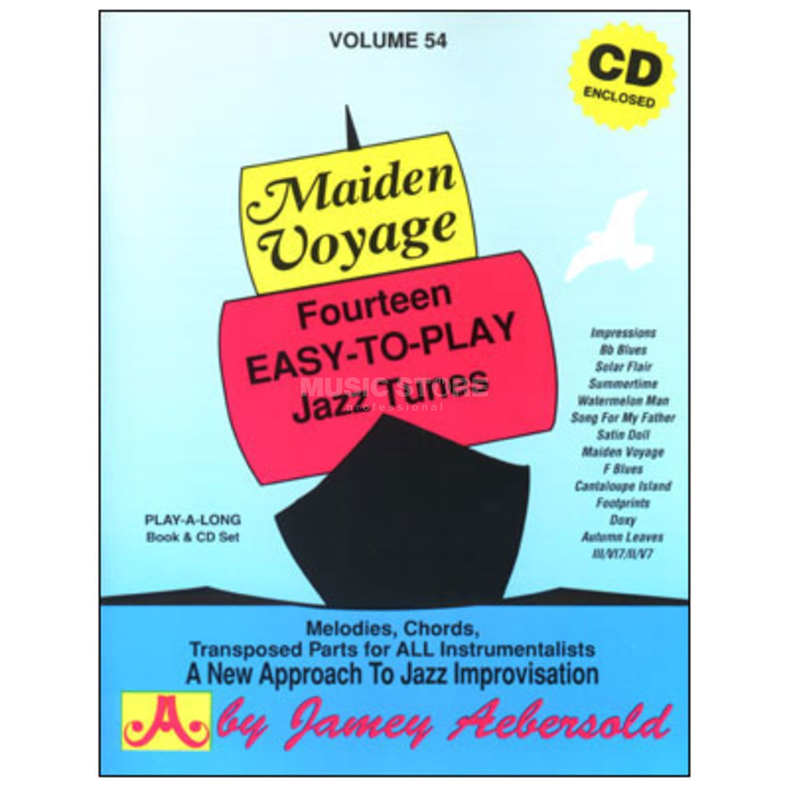 Jamey Aebersold Aebersold: Maiden Voyage Vol. 54 incl. CD Product Image