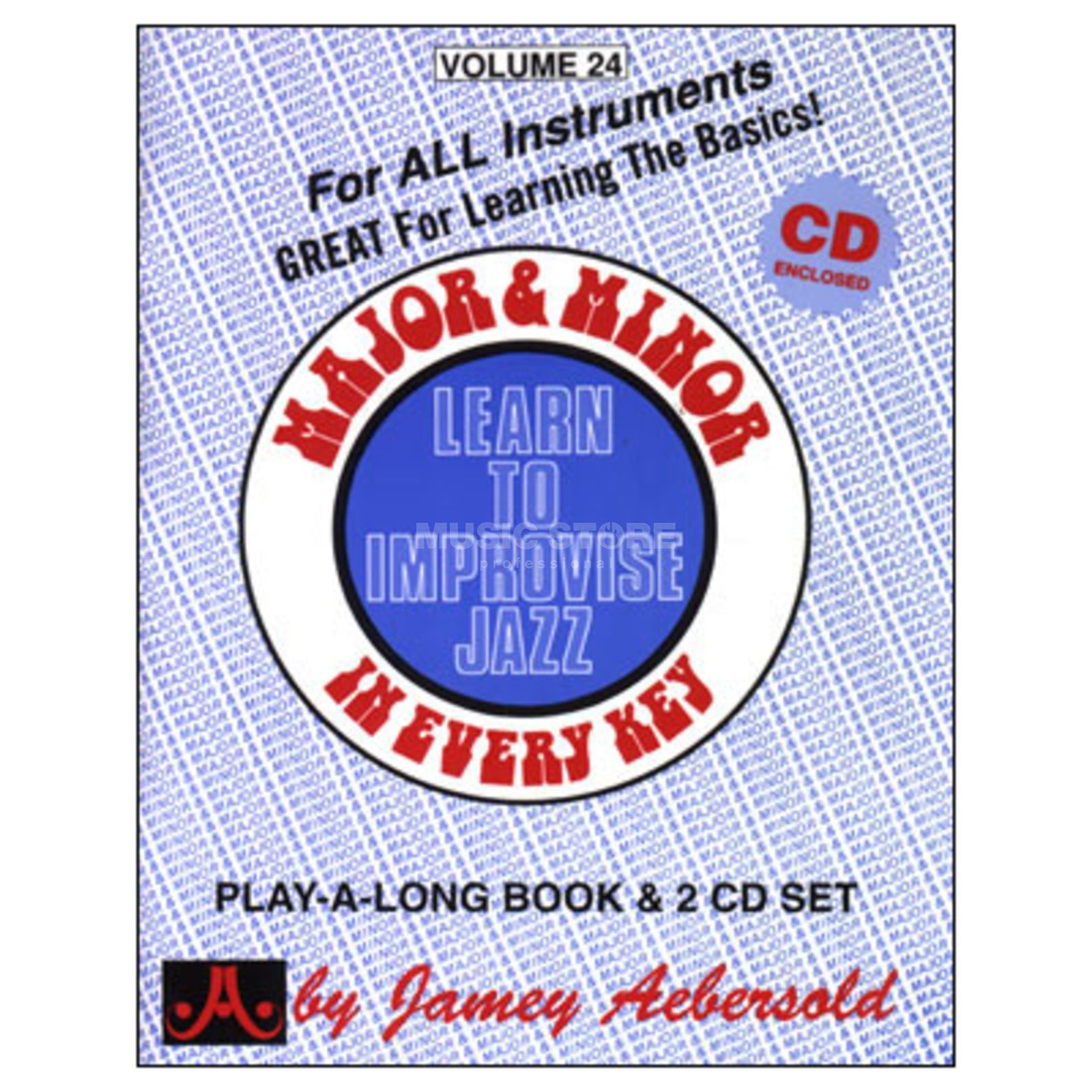Jamey Aebersold Aebersold: Major and Minor Vol. 24, incl. CD Produktbillede