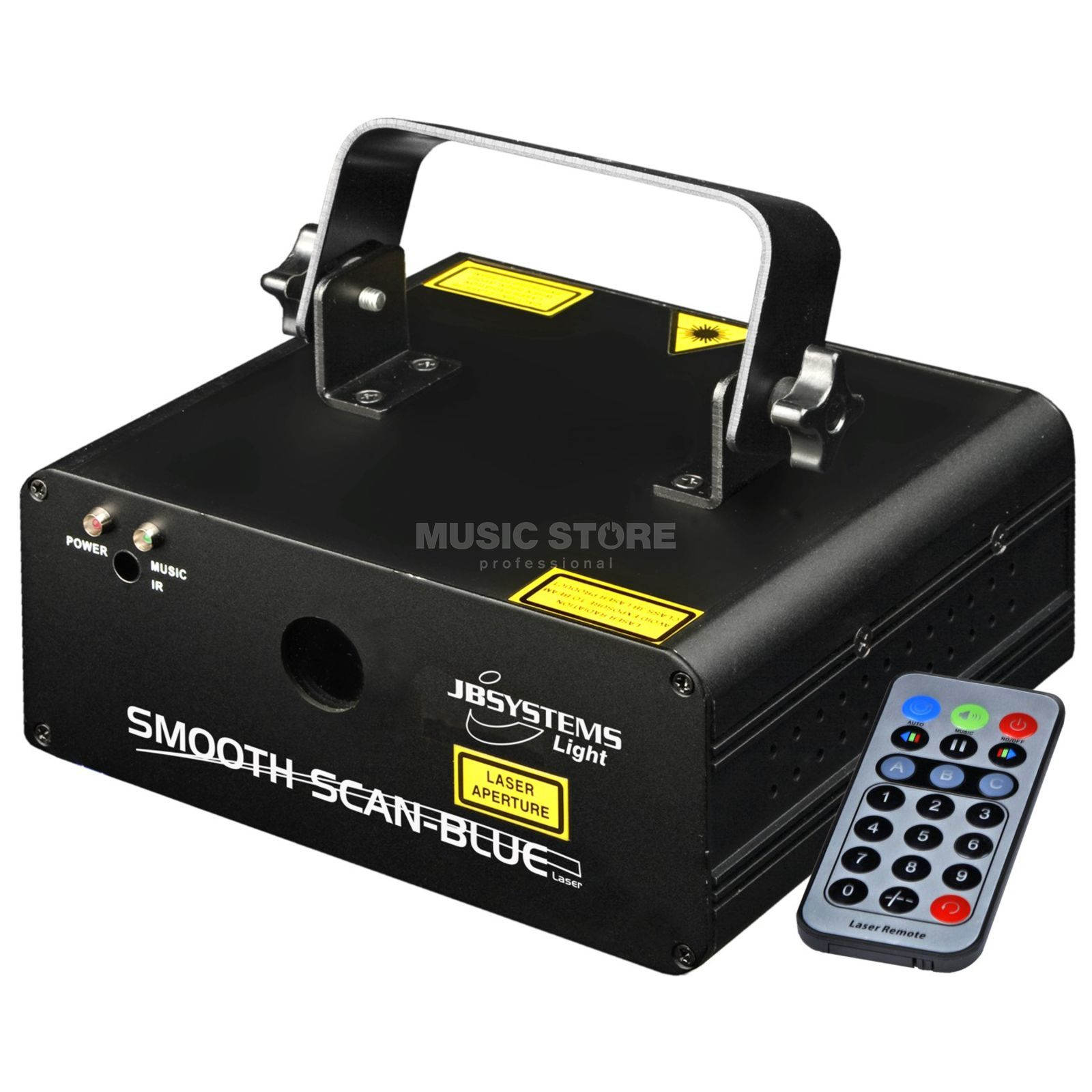 JB Systems Smooth Scan Blue Laser  Produktbild