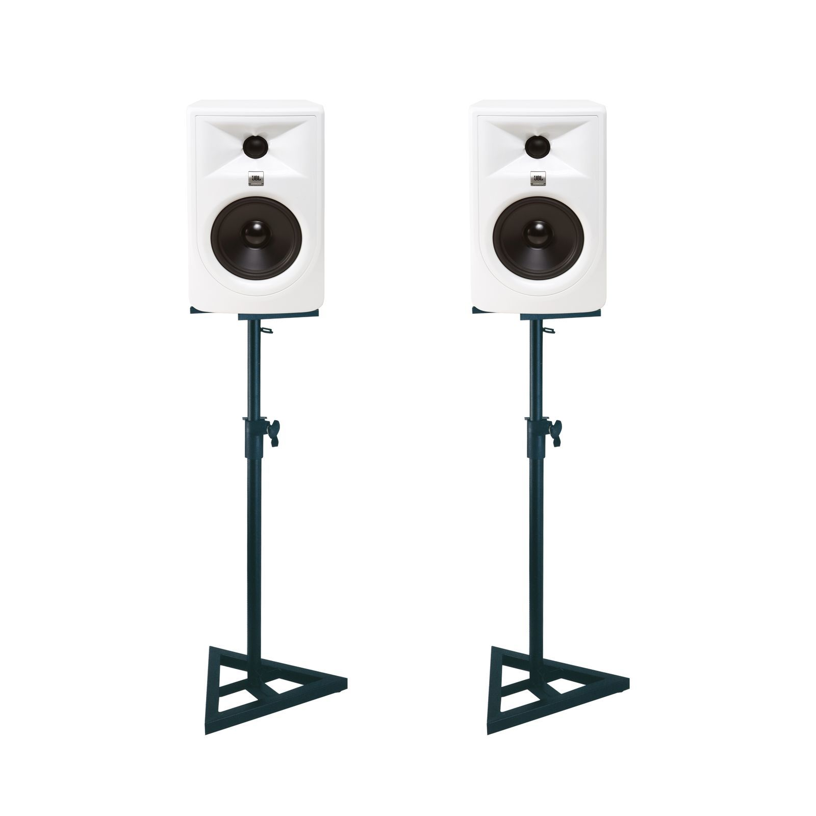 JBL 305P MKII W + Stand -Set Product Image