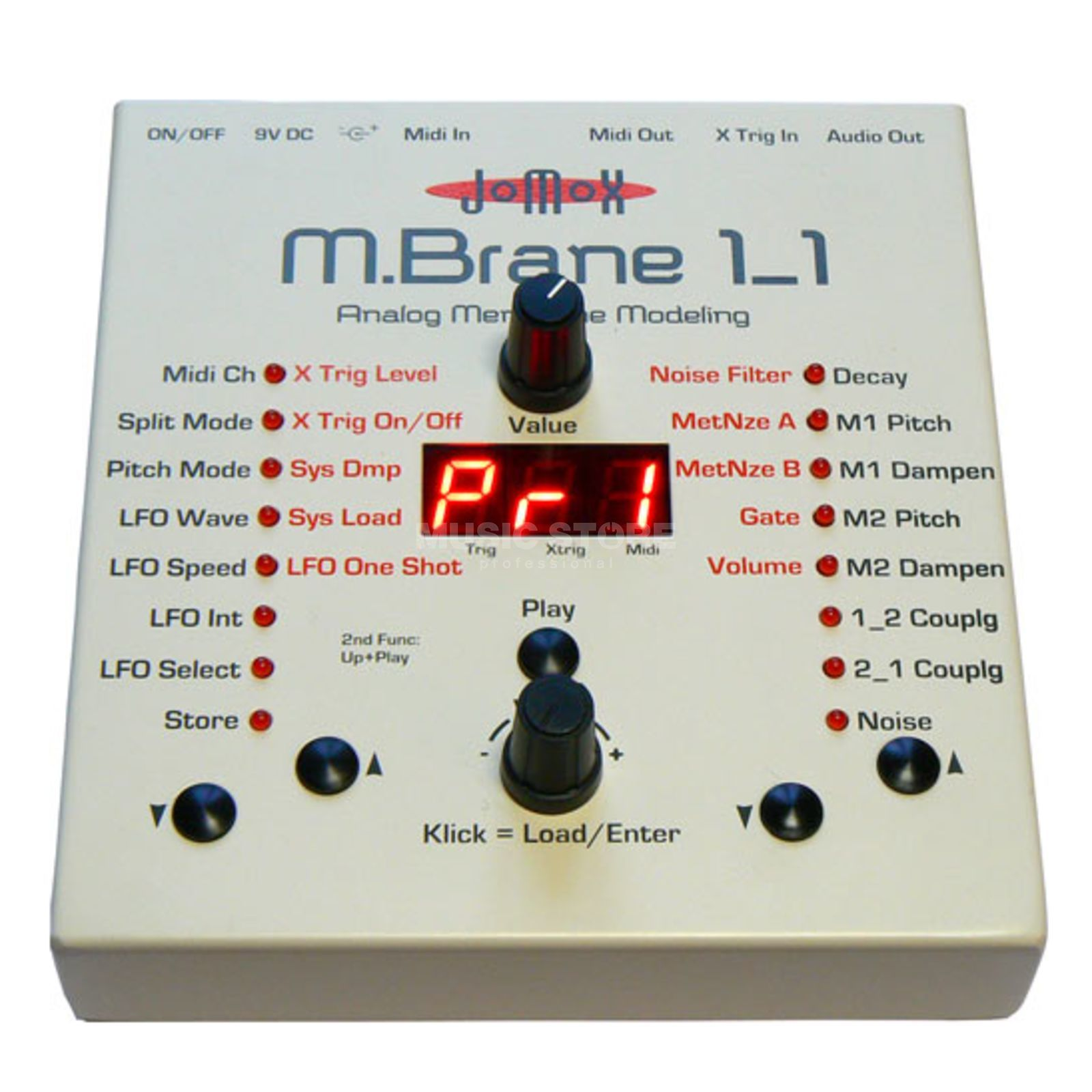 Jomox MBrane11 Percussion Synthesizer Produktbillede