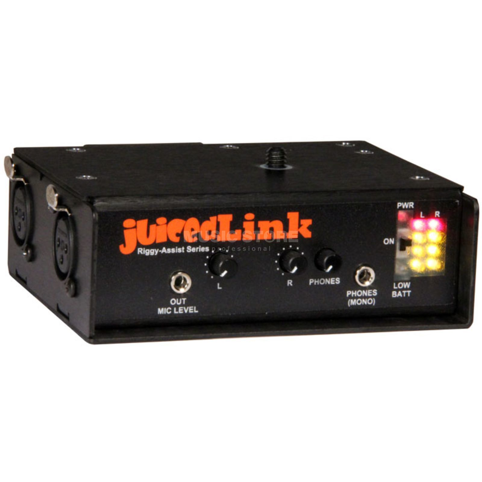 Juiced Link RA222 Riggy-Assist 2 XLR/+48V/HP for Kameras Produktbillede