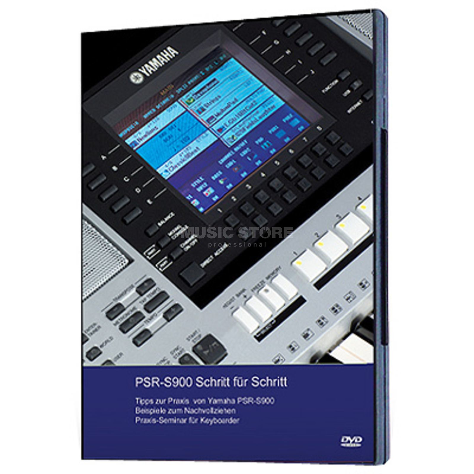 Keyboard-Seminare PSR-S900 Schritt für Schritt Video DVD (German Version) Produktbillede