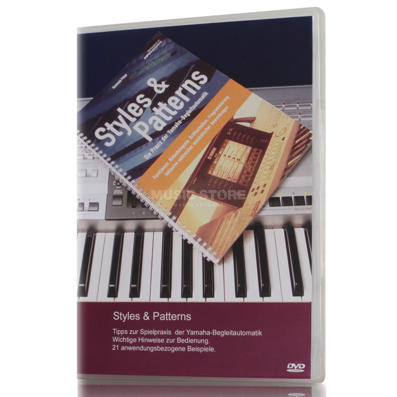 Keyboard-Seminare Styles & Patterns Video DVD for all Yamaha Keyboards Produktbillede