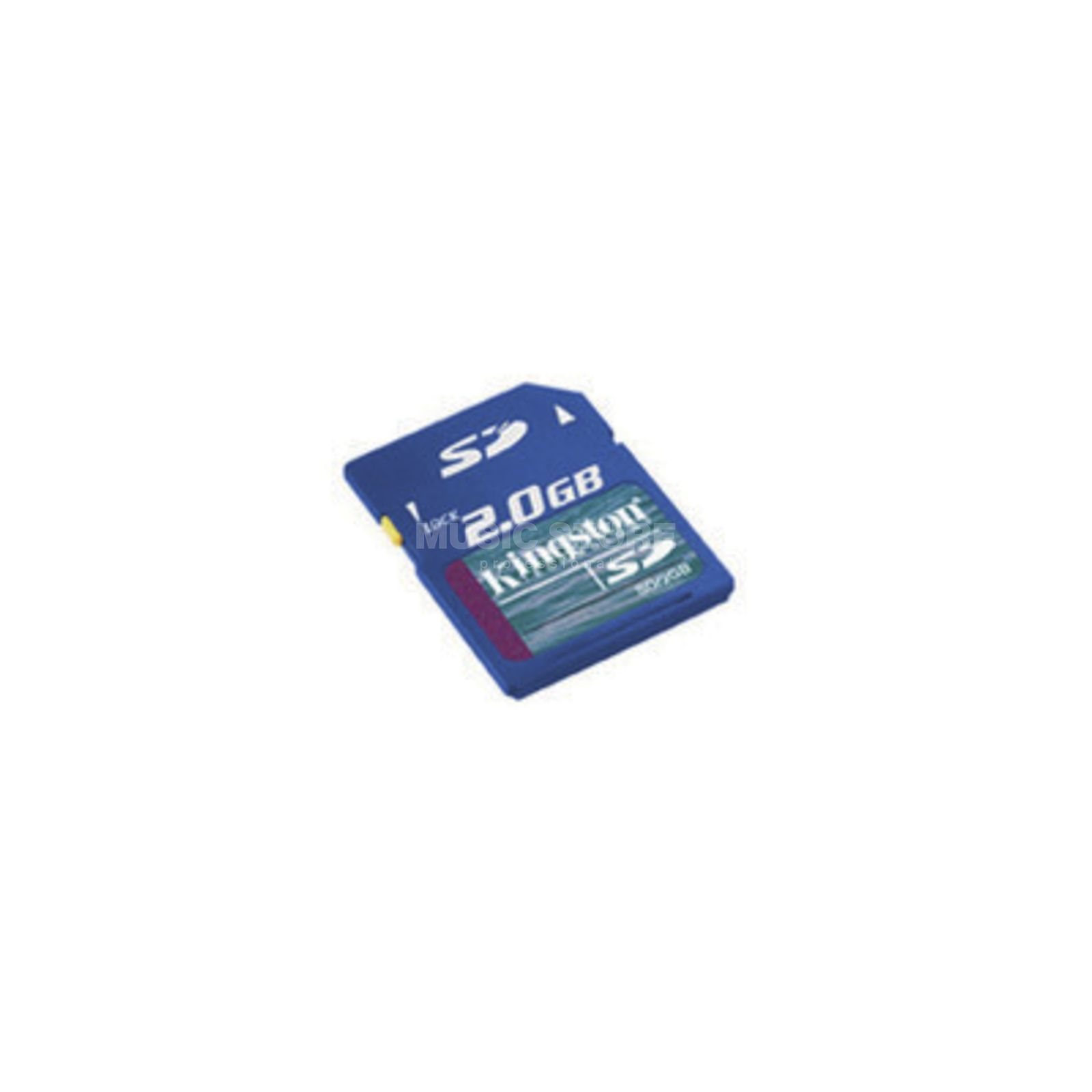 Kingston SD Secure Digital Card / 2 GB für SD-Card Recorder Produktbillede