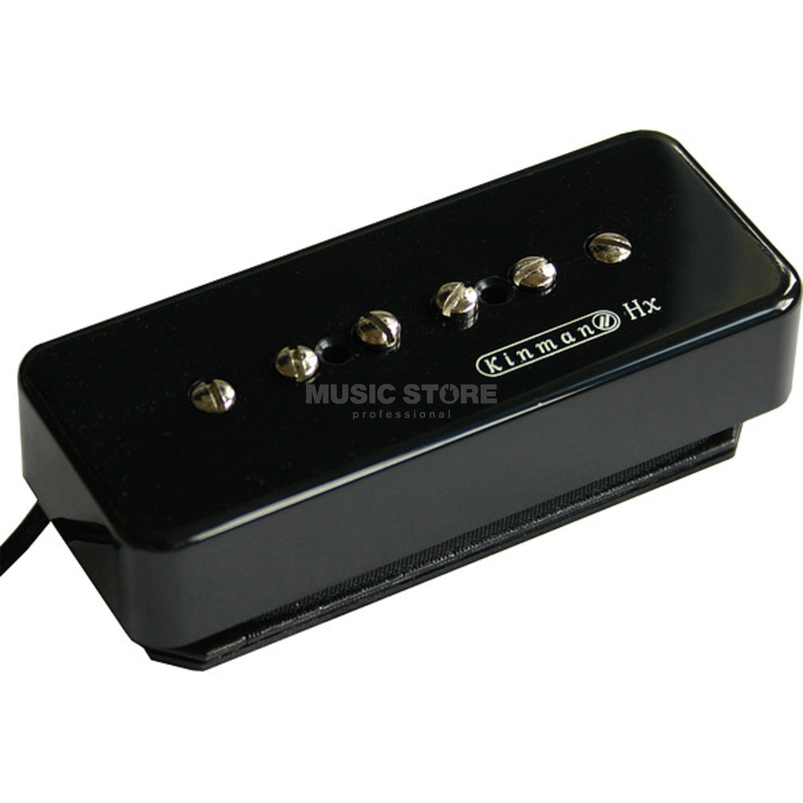 Kinman Pickups P-90 HX Bridge Black Product Image