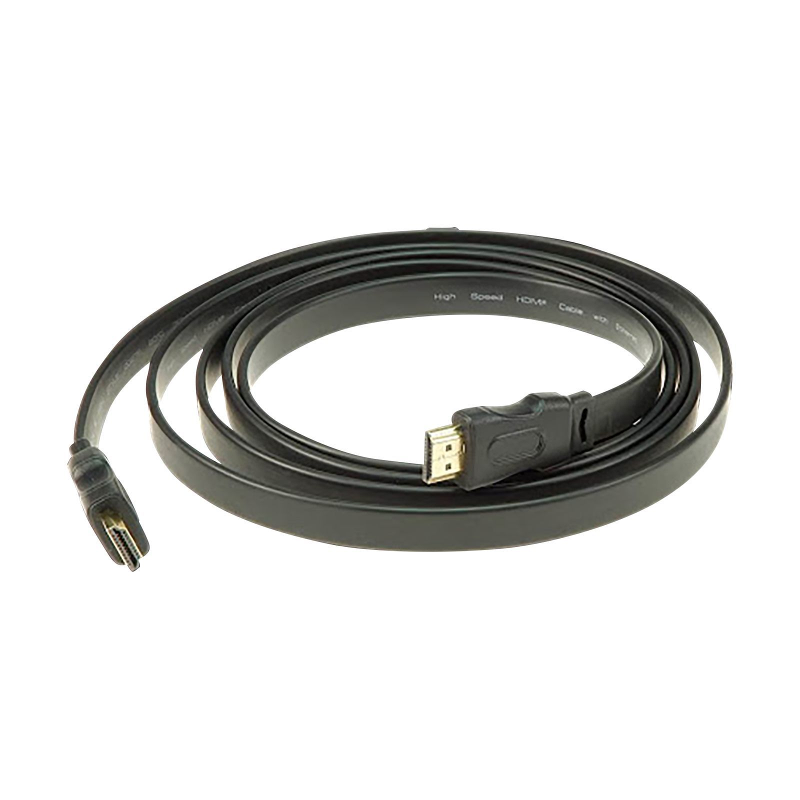 Klotz HDMI 1.4a High Speed A-A, 2 Meter, Flachkabel Produktbillede