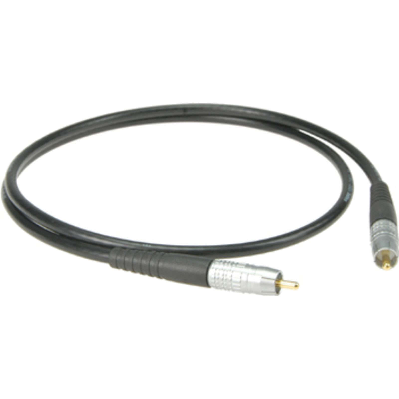 klotz highend s pdif cable 1m rca black spdix1 0sw. Black Bedroom Furniture Sets. Home Design Ideas