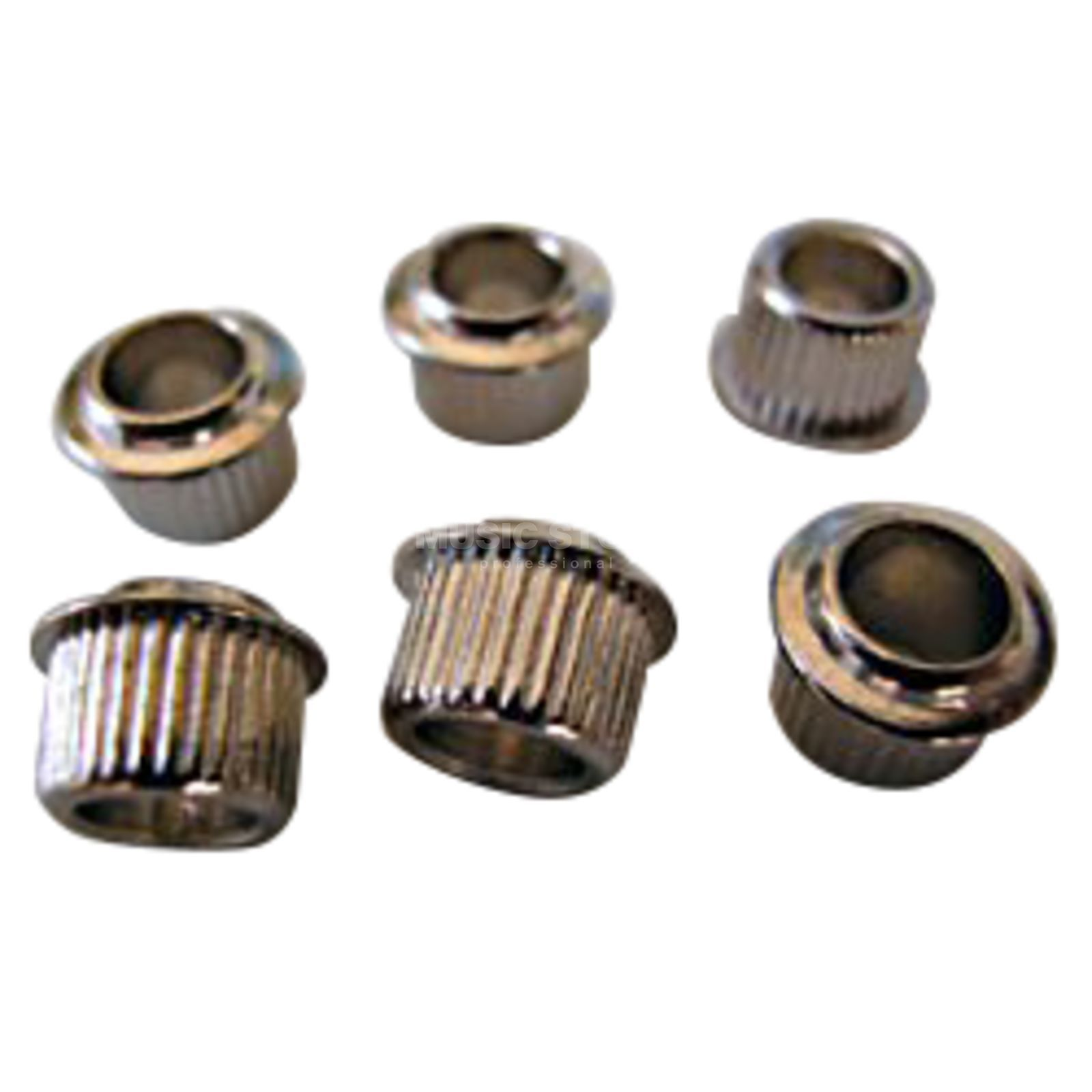 Kluson Mechanik Adapter Hülsen NI Nickel 6er-Pack Product Image
