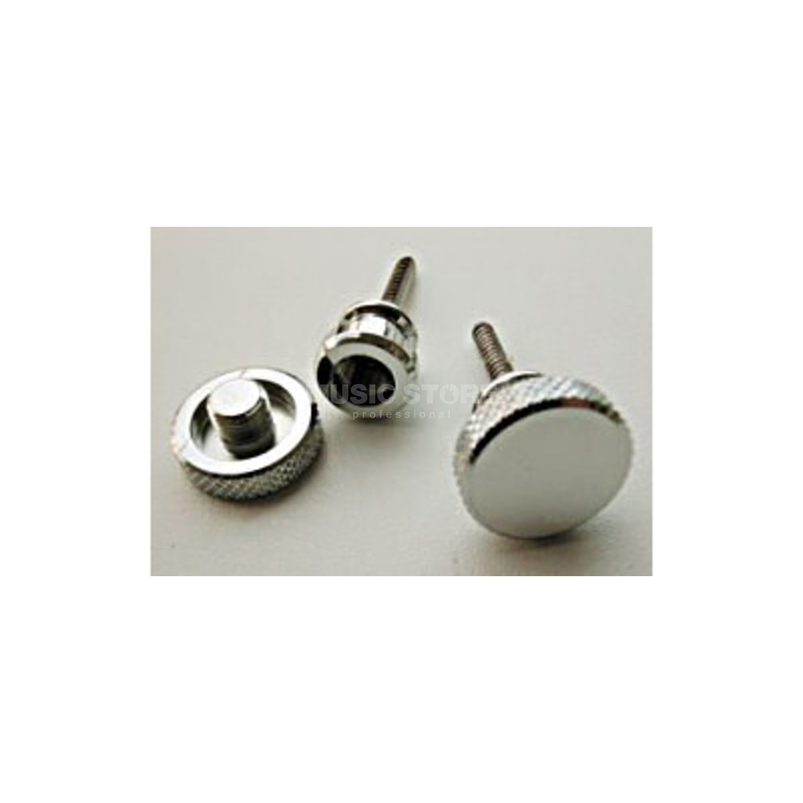 Kluson Multi Lock Nickel Gurtpin Set Produktbillede