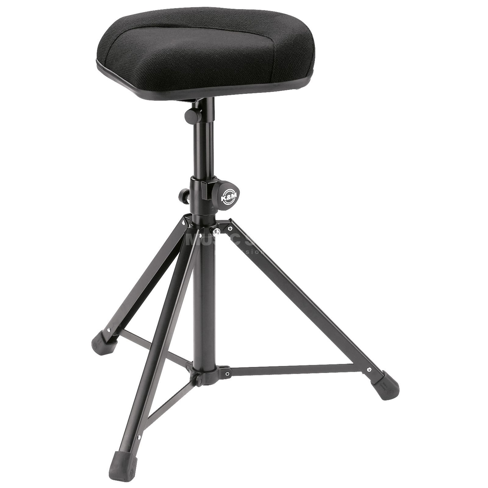 König & Meyer 14053 stool standing aid black with fabric covering Produktbillede