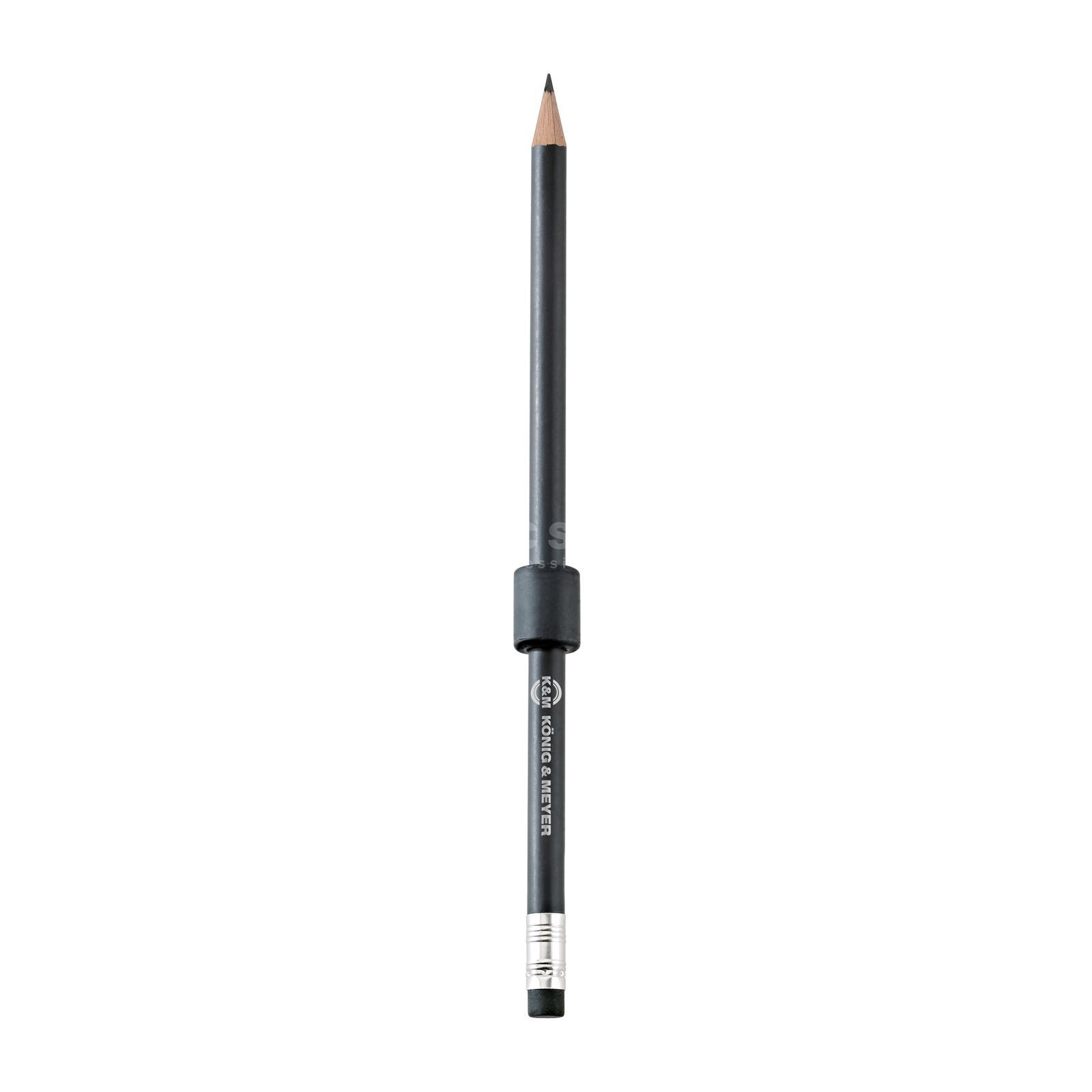 König & Meyer 16099 Holding magnet with pencil - black Productafbeelding