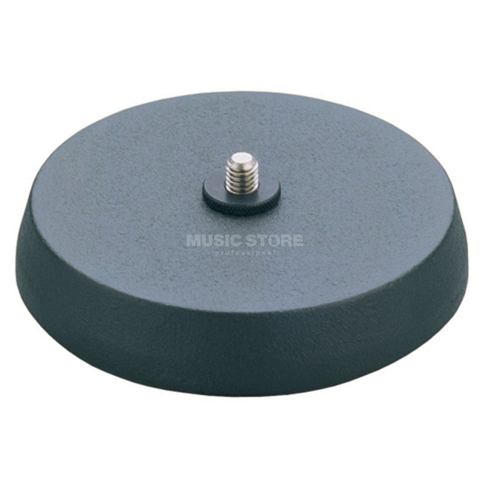 "König & Meyer 23220  Round Base, 3/8"" without Pole Produktbillede"