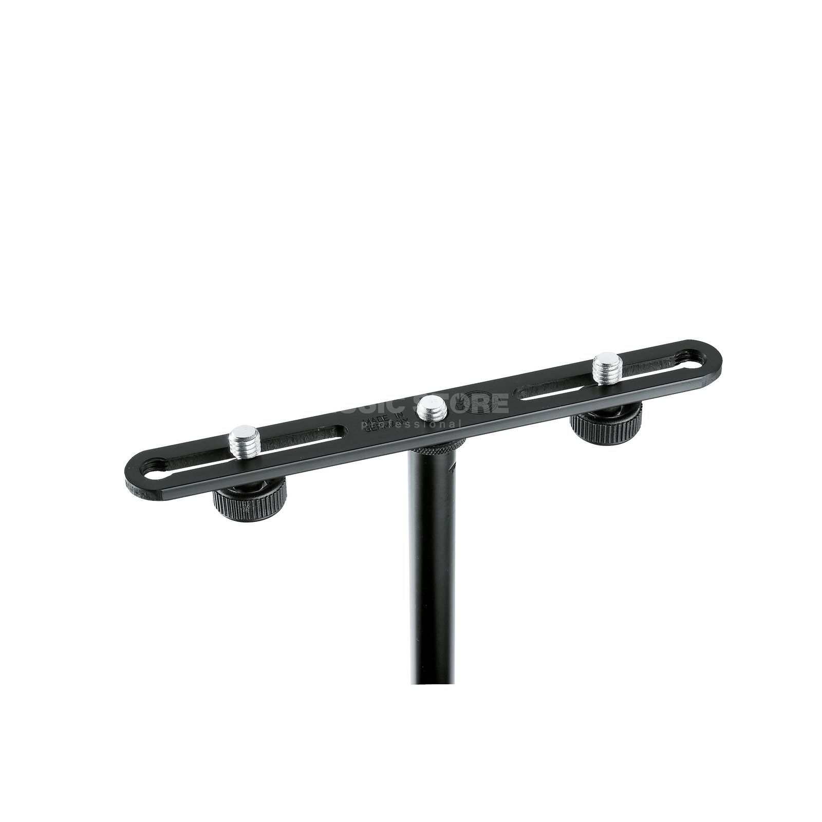 König & Meyer 23550 Microphone Bar 20 cm, Black Produktbillede