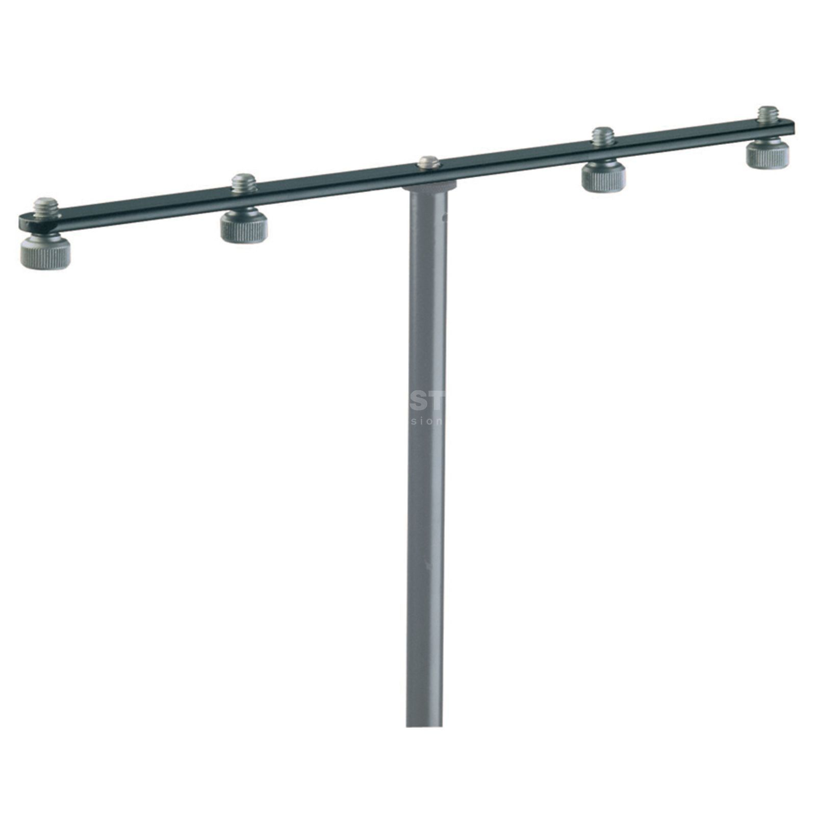 König & Meyer 236 Supplement Rail for 4 microphones Produktbillede