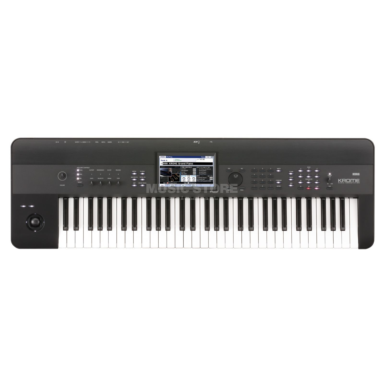 Korg KROME - 61 Synthesizer Workstation Produktbillede