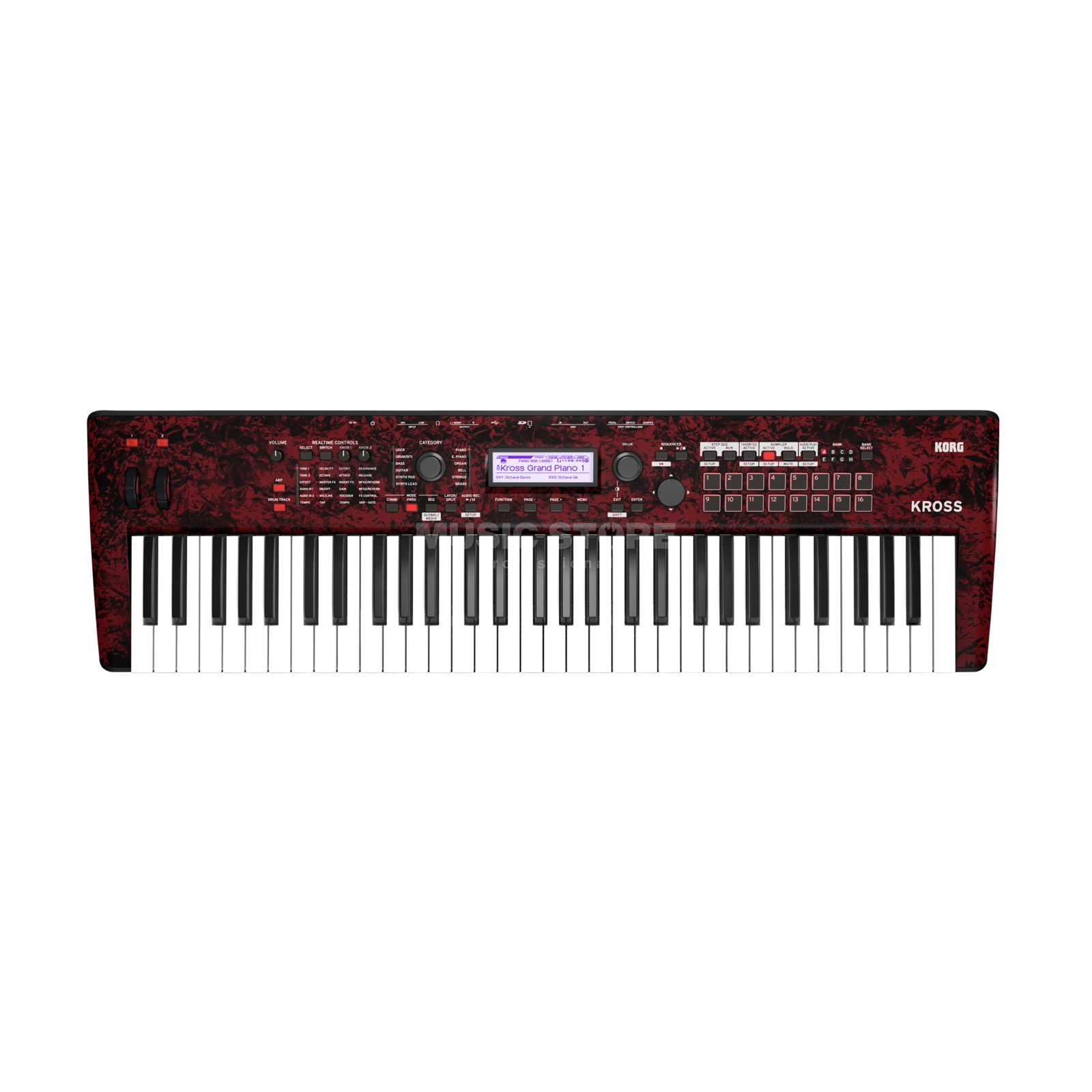 Korg Kross 2 RDM Synthesizer Workstation Product Image