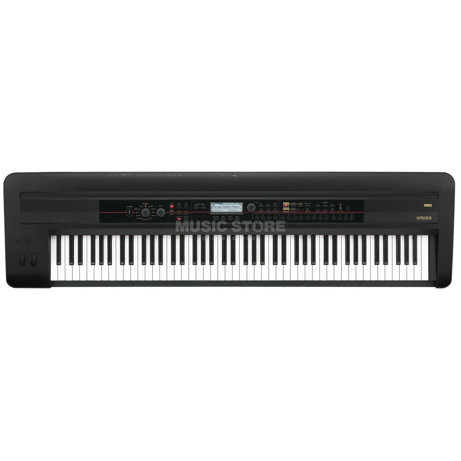 Korg KROSS 88 BK Music Workstation Produktbillede