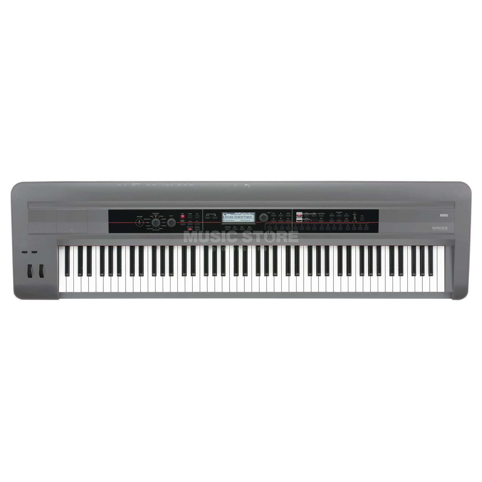 Korg KROSS 88 Platinum SE while supplies last Produktbillede