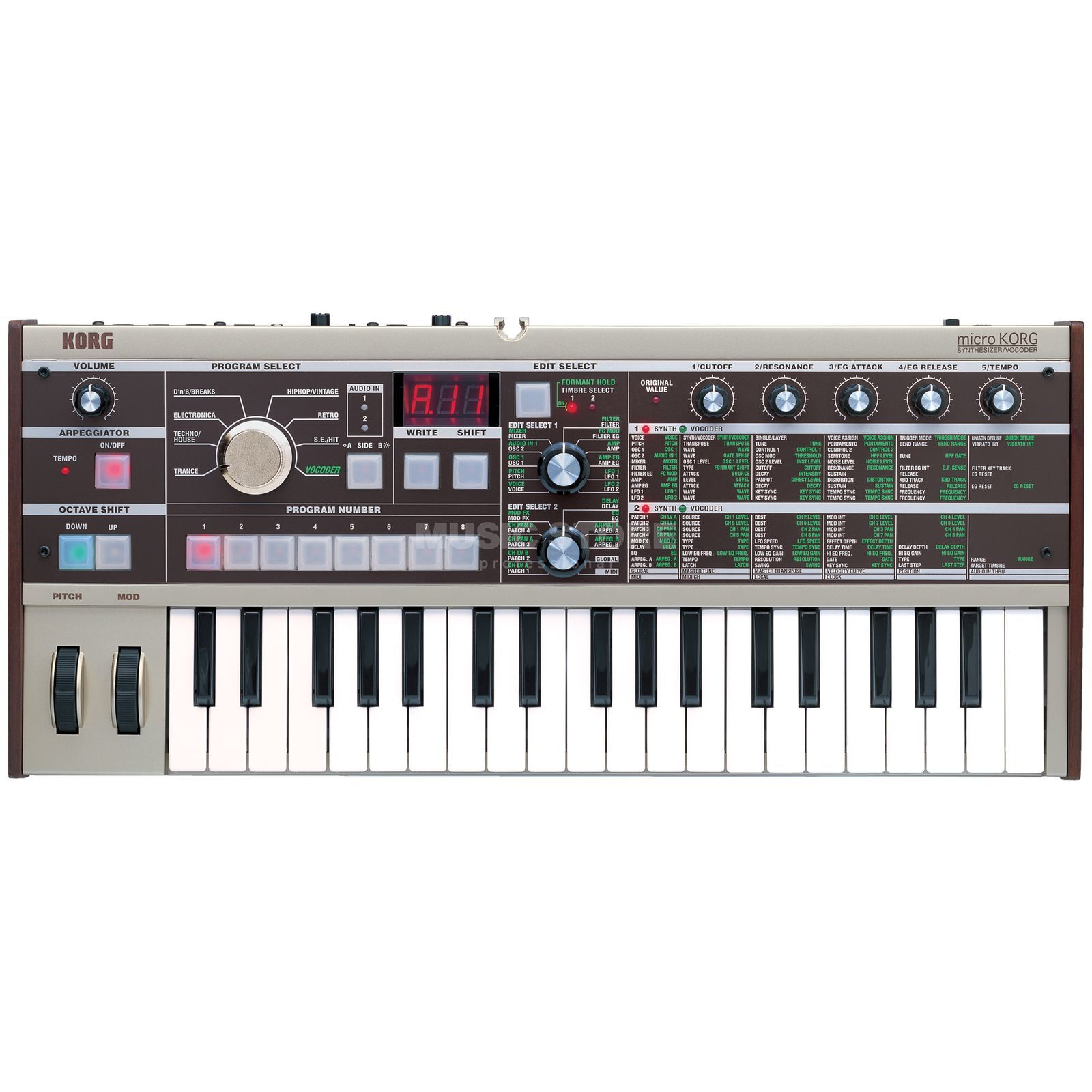 korg microkorg synthesizer vocoder dv247. Black Bedroom Furniture Sets. Home Design Ideas