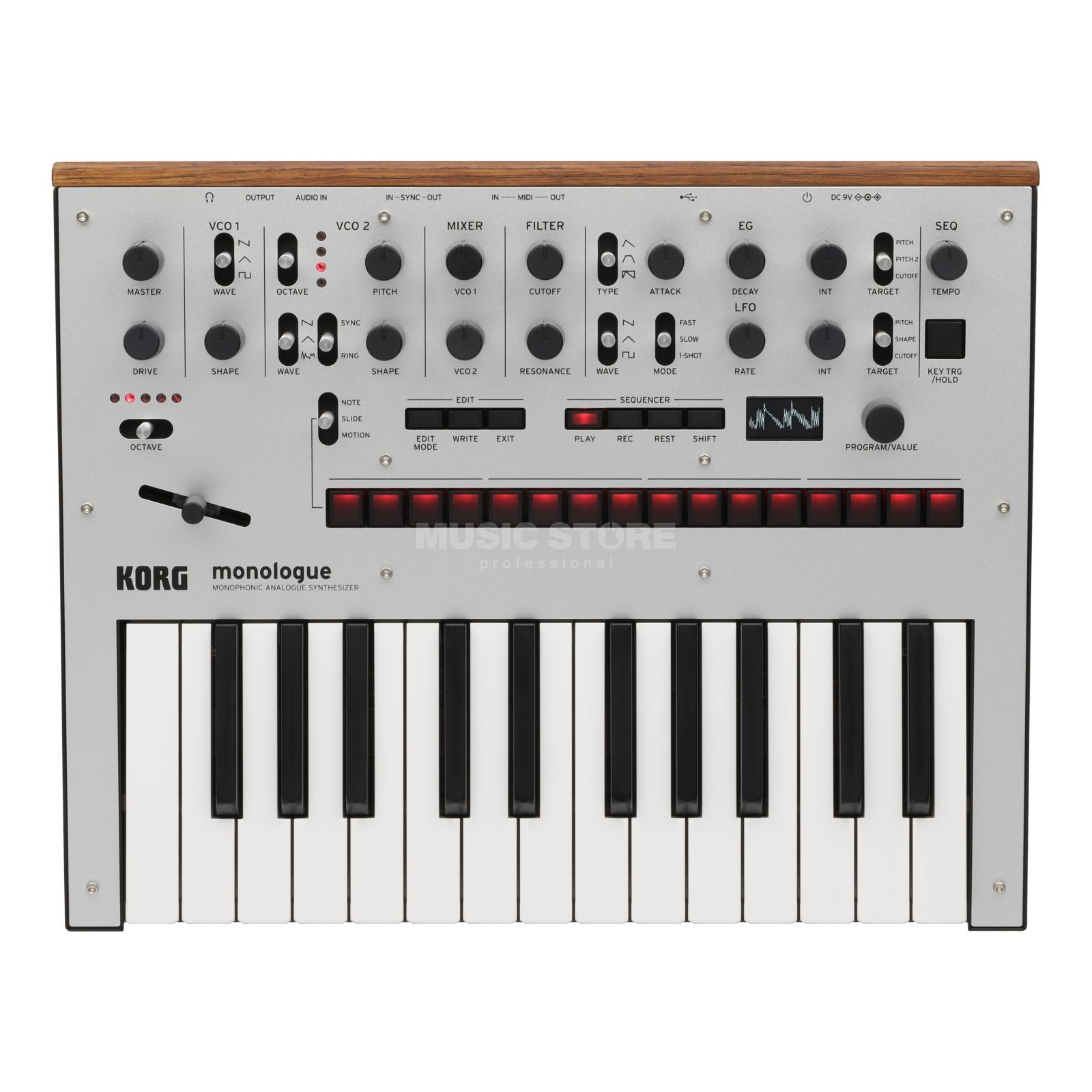 Korg monologue silver Product Image