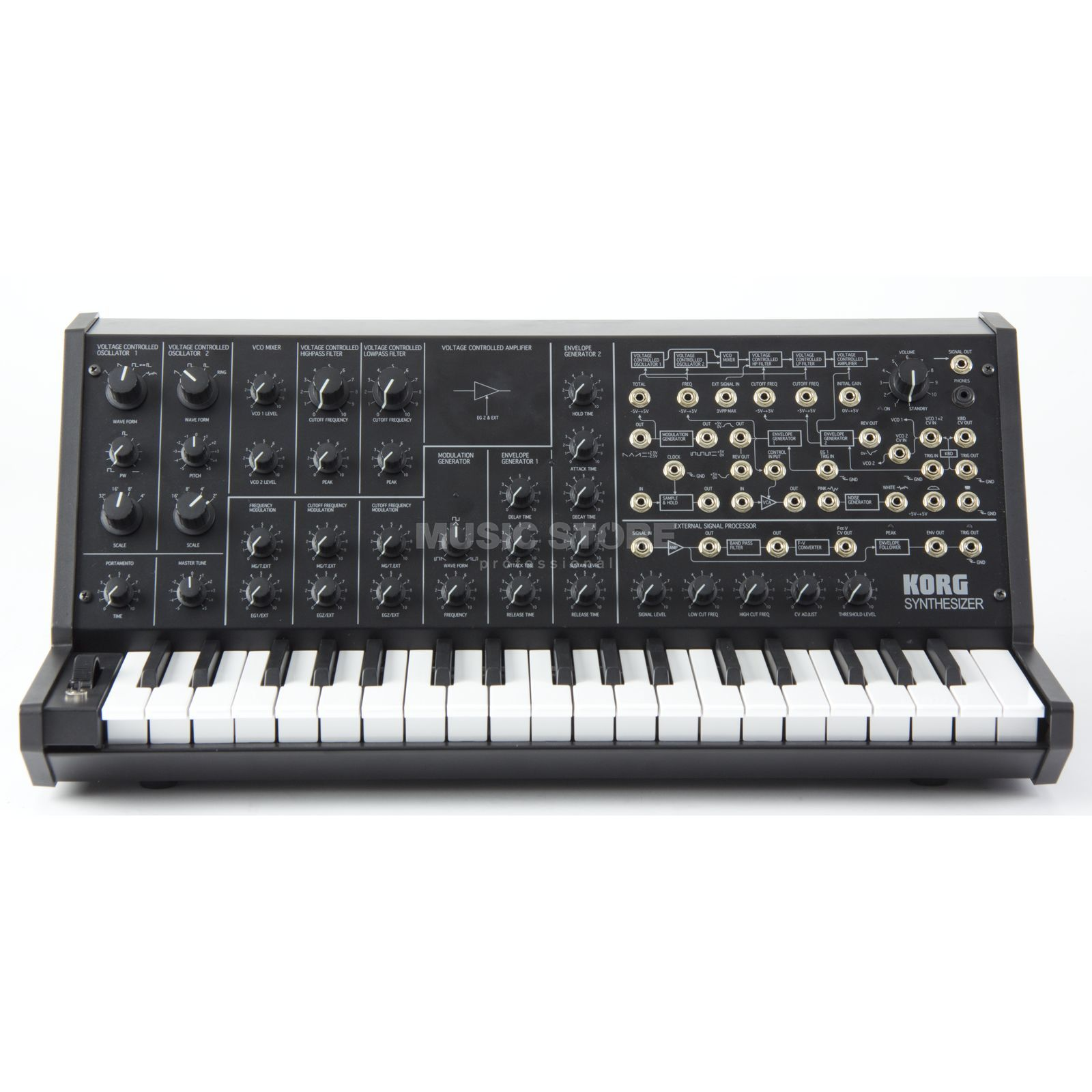 Korg MS-20 Mini Analog Synthesizer Produktbillede