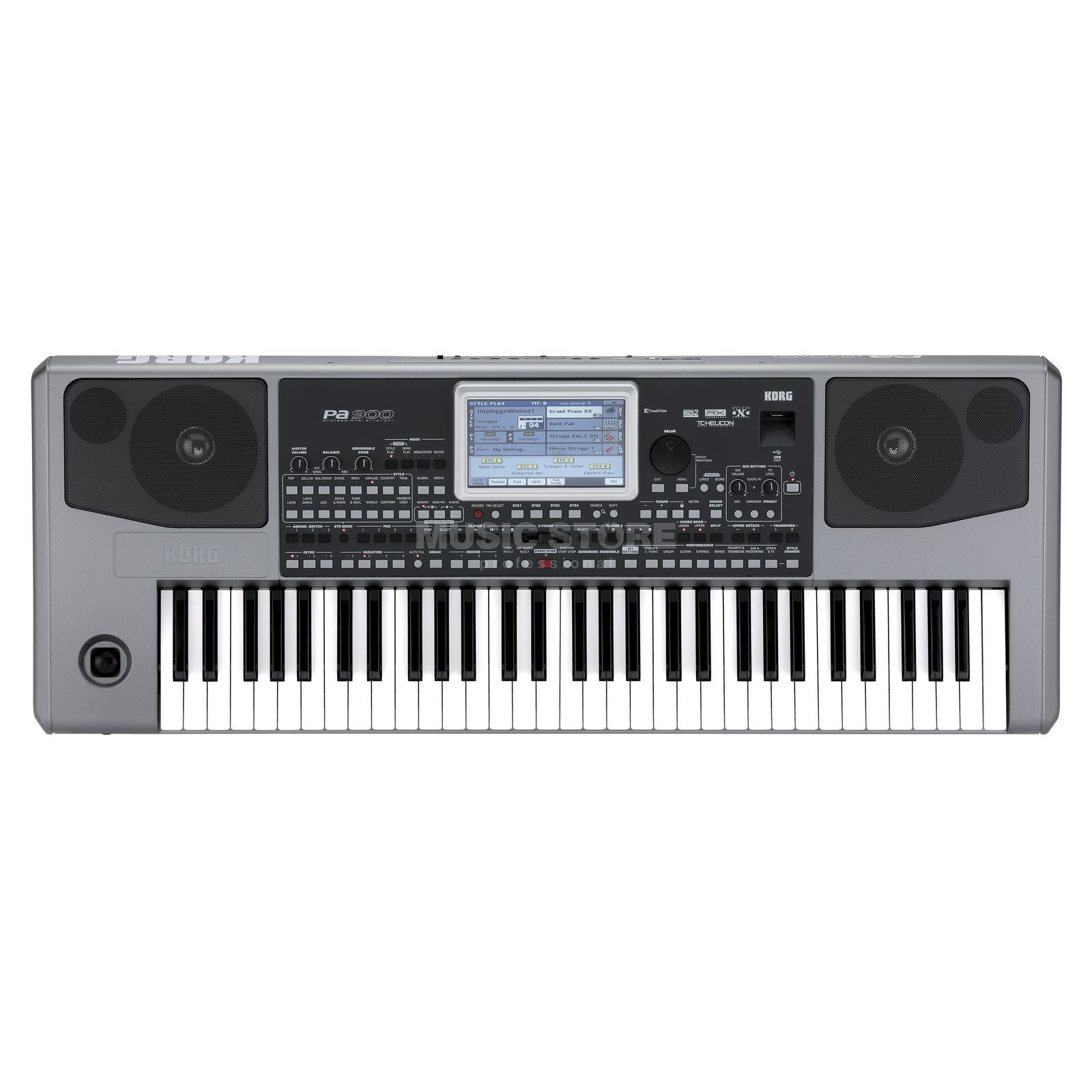 Korg PA 900 Entertainer Keyboard Produktbillede