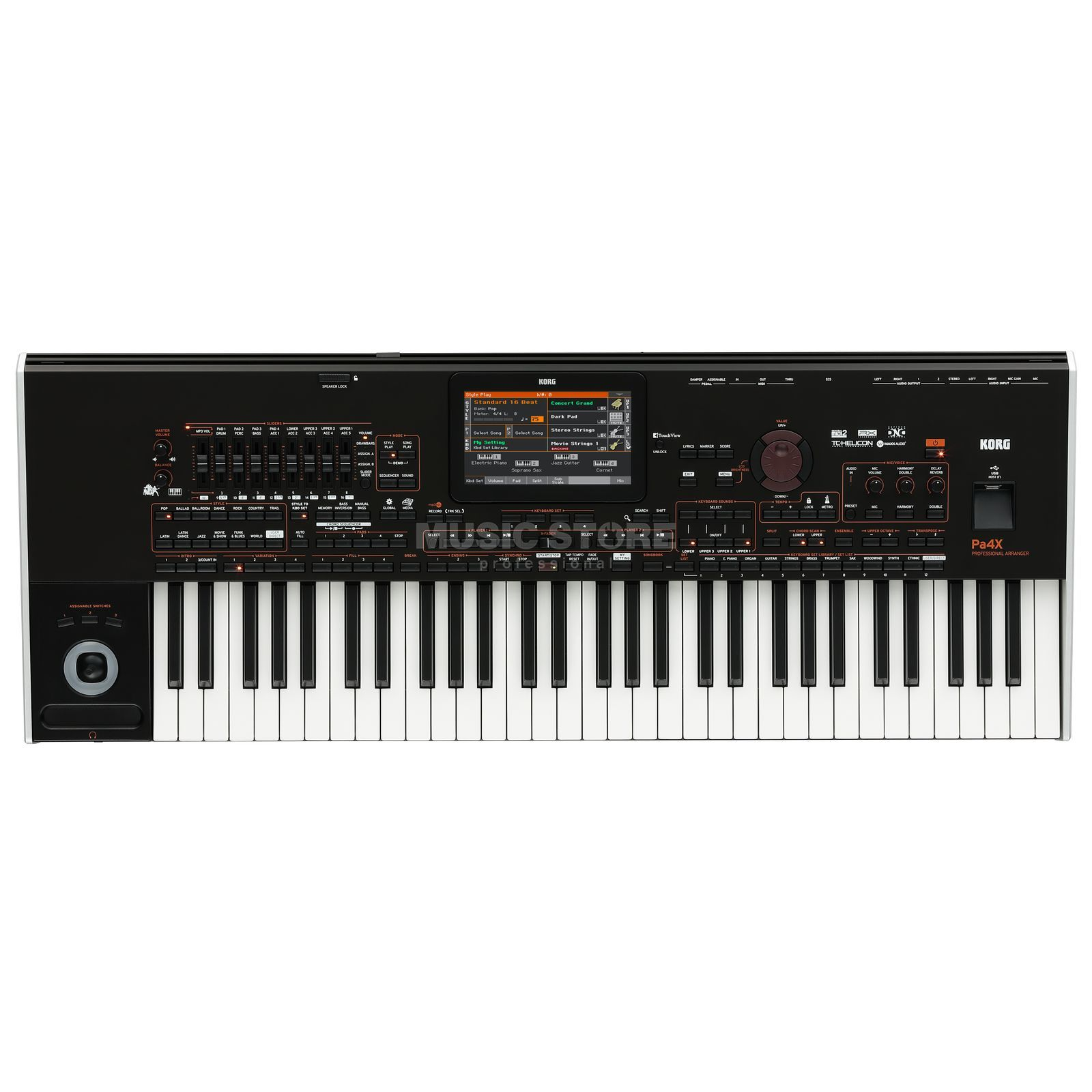 Korg Pa4X 61 International Entertainer Workstation Produktbillede