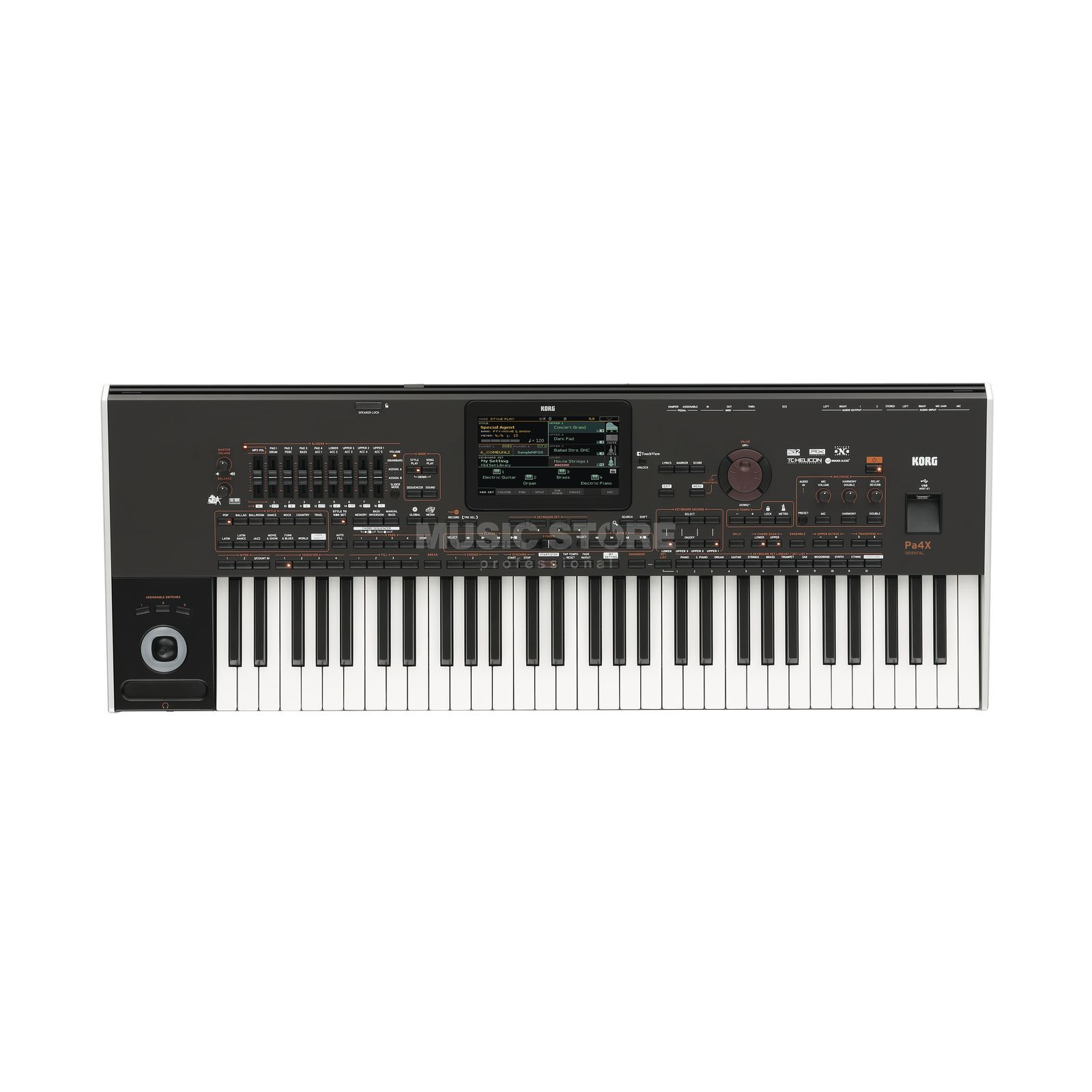 Korg PA4X 61 Oriental Entertainer Workstation Product Image