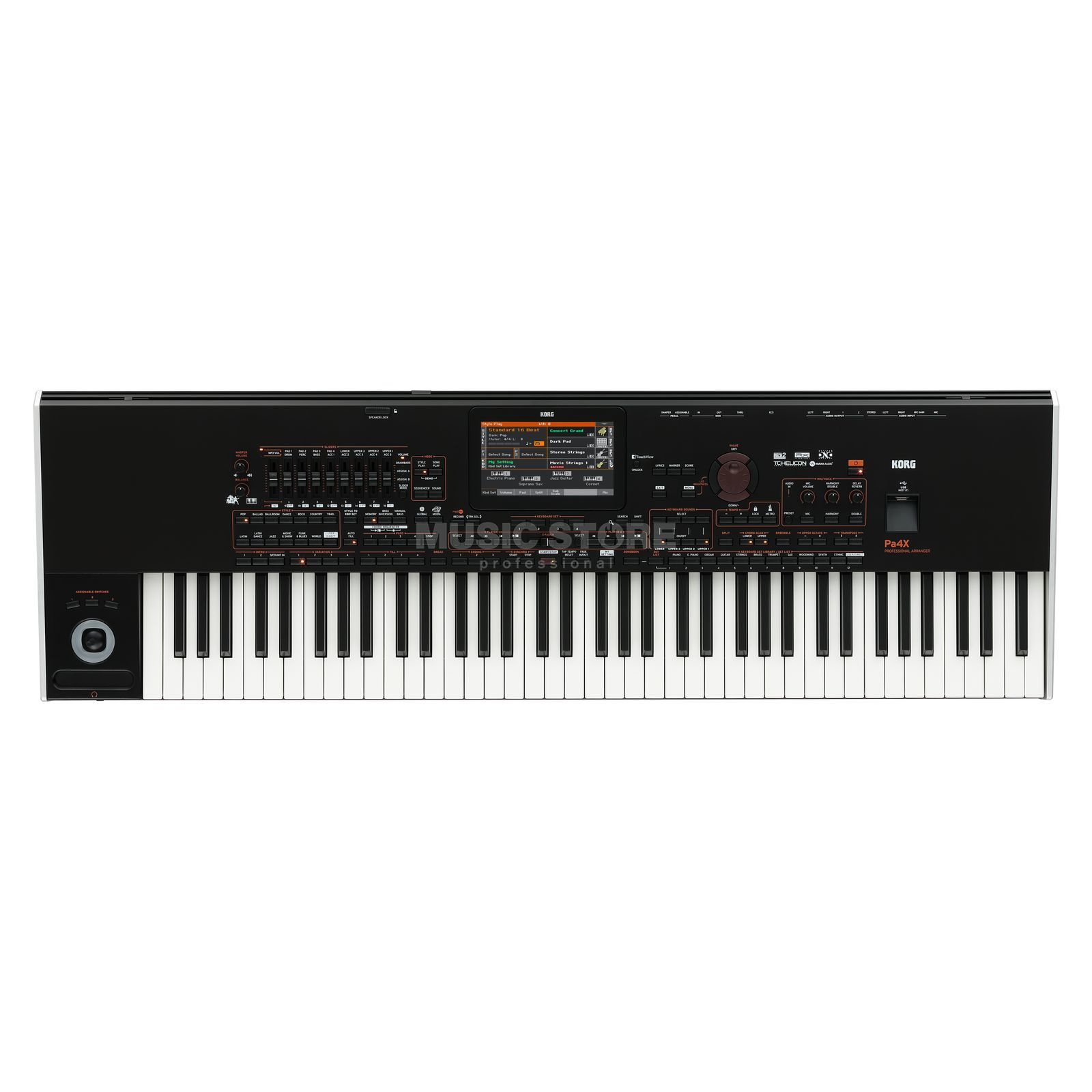 Korg Pa4X 76 International Entertainer Workstation Produktbillede