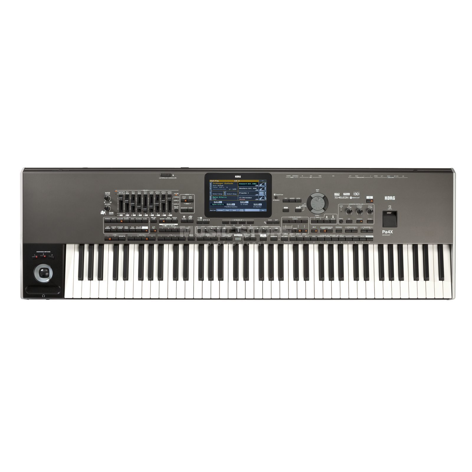 Korg Pa4X 76 Musikant Entertainer Workstation Produktbild