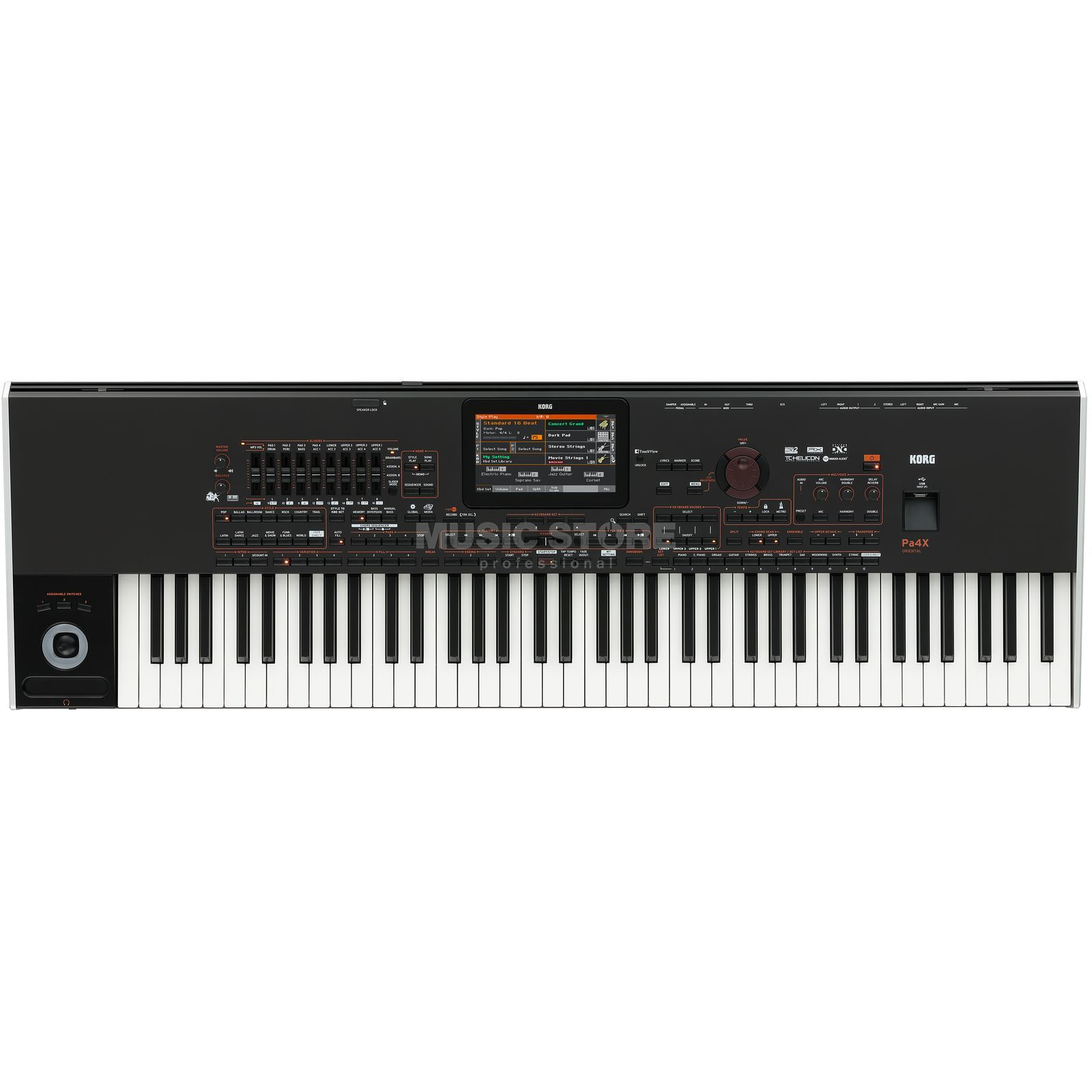 Korg Pa4X 76 Oriental Entertainer Workstation Produktbillede