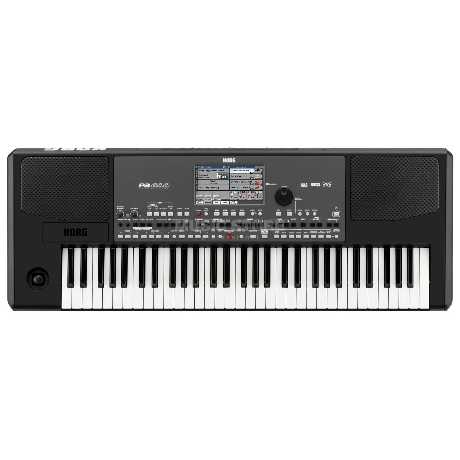 Korg Pa600 Entertainer Workstation Produktbild