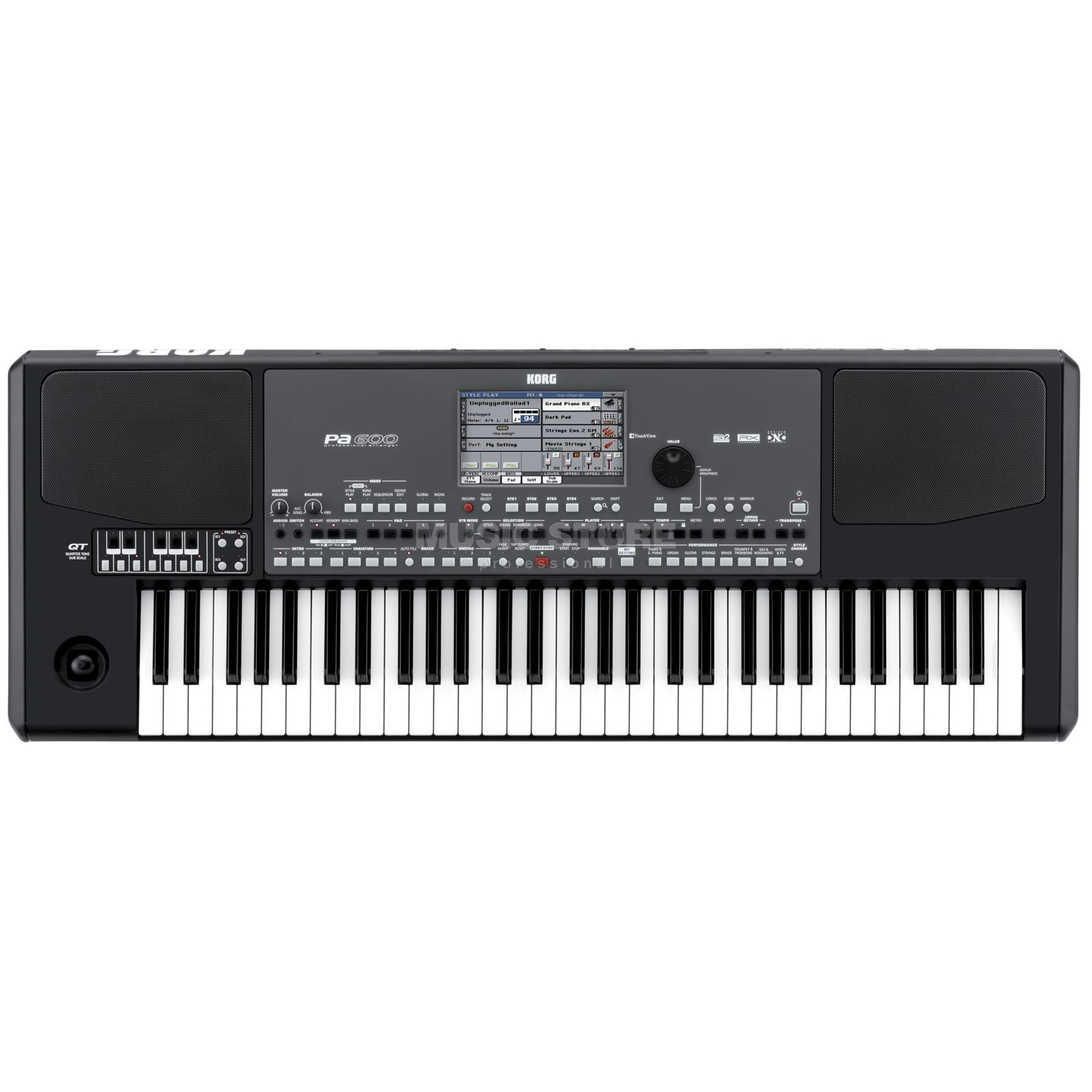 Korg Pa600 QT Oriental Entertainer Workstation Produktbild