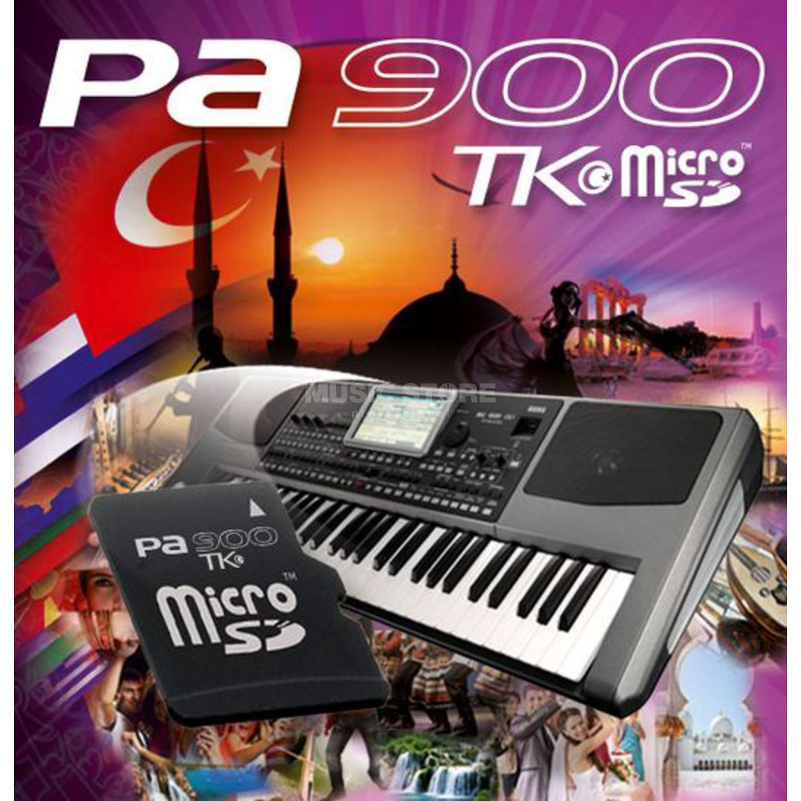 Korg Pa900 TK Micro SD Software Expansion Produktbillede