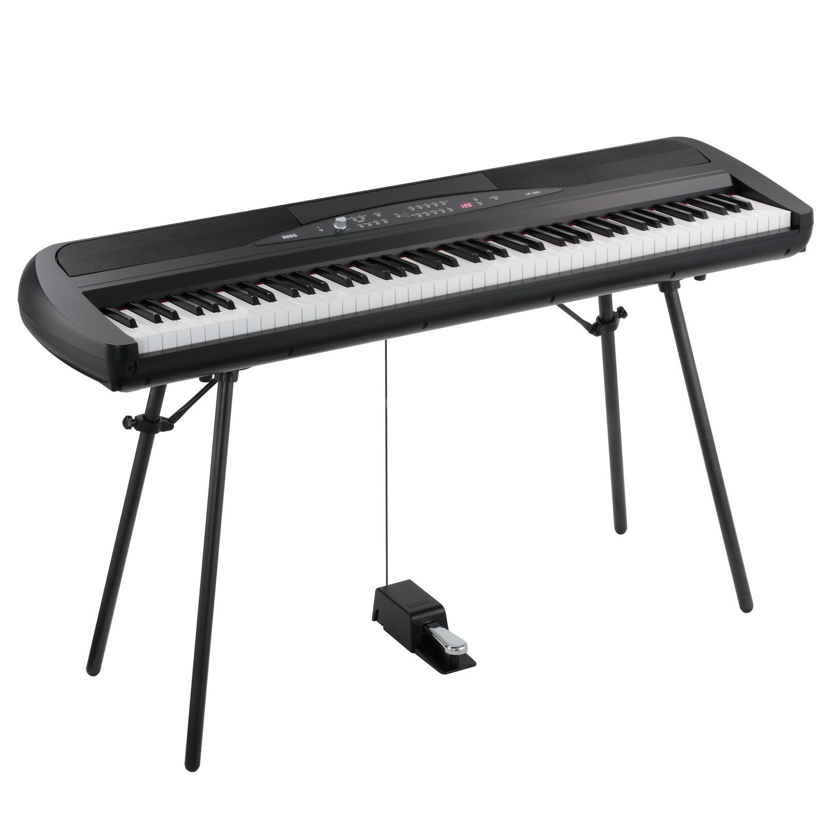 Korg SP-280 Digital Piano, Black    Produktbillede
