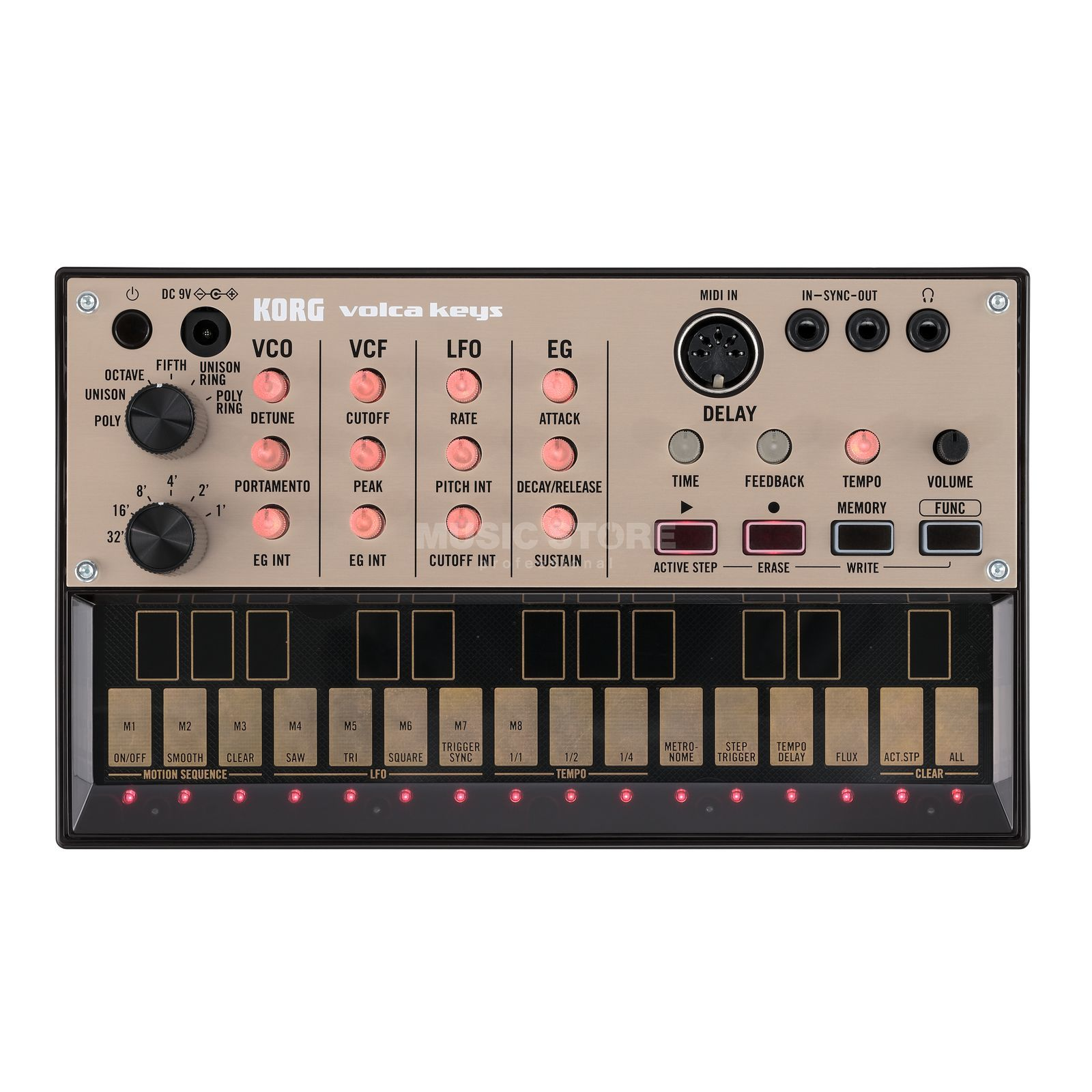 Korg Volca Keys Analog Synthesizer Produktbillede