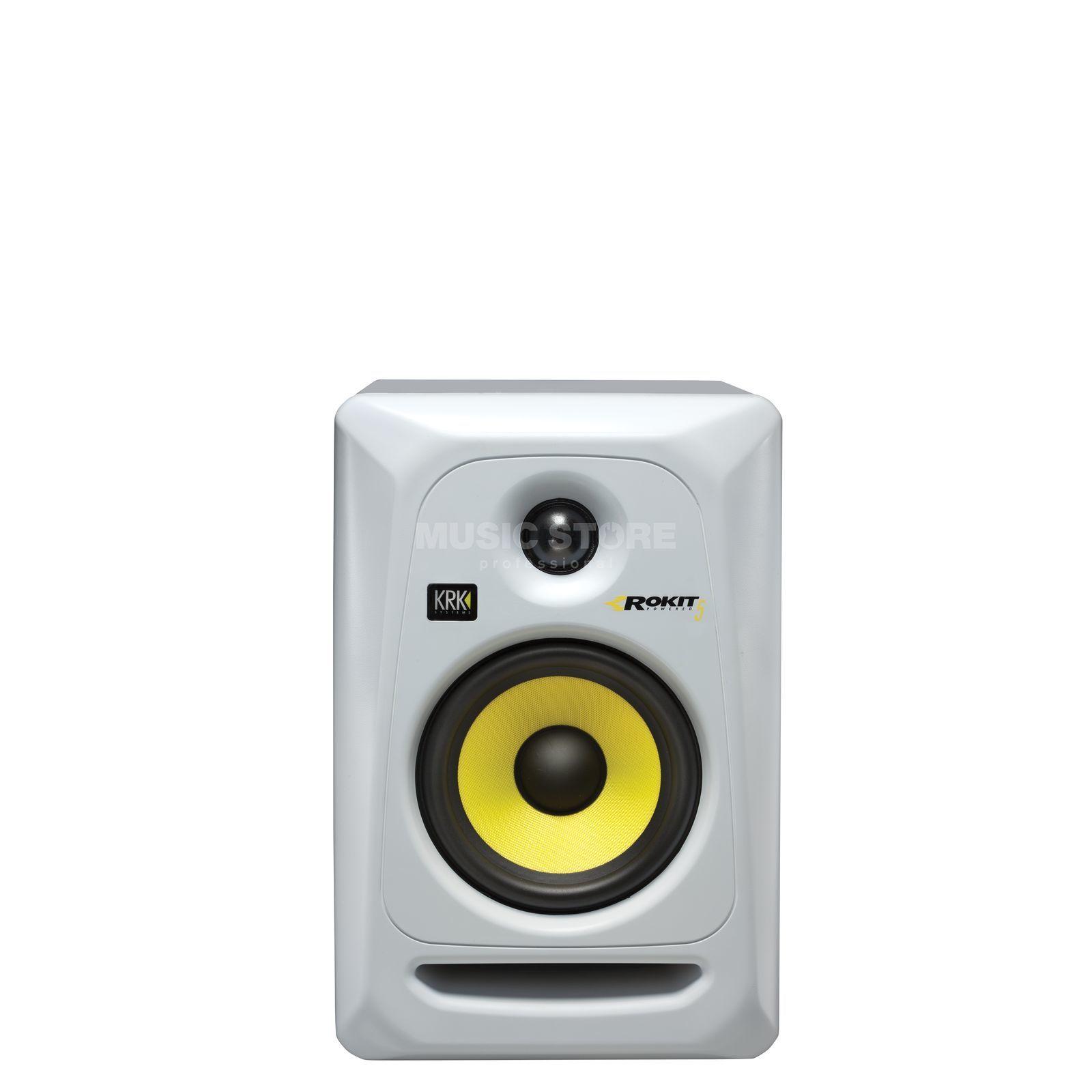 krk rokit 5 rp5 g3 se active studio monitor white. Black Bedroom Furniture Sets. Home Design Ideas