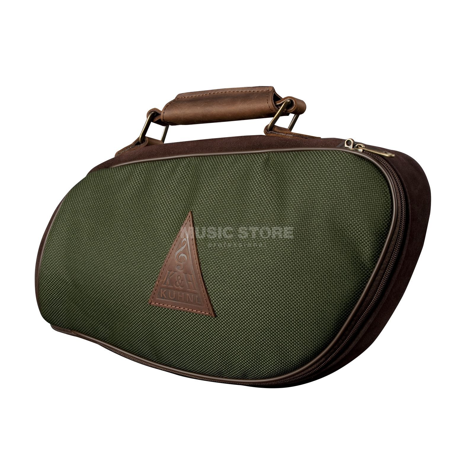 Kühnl & Hoyer forst-Pless-Horn Bag - green, water-resistant Immagine prodotto