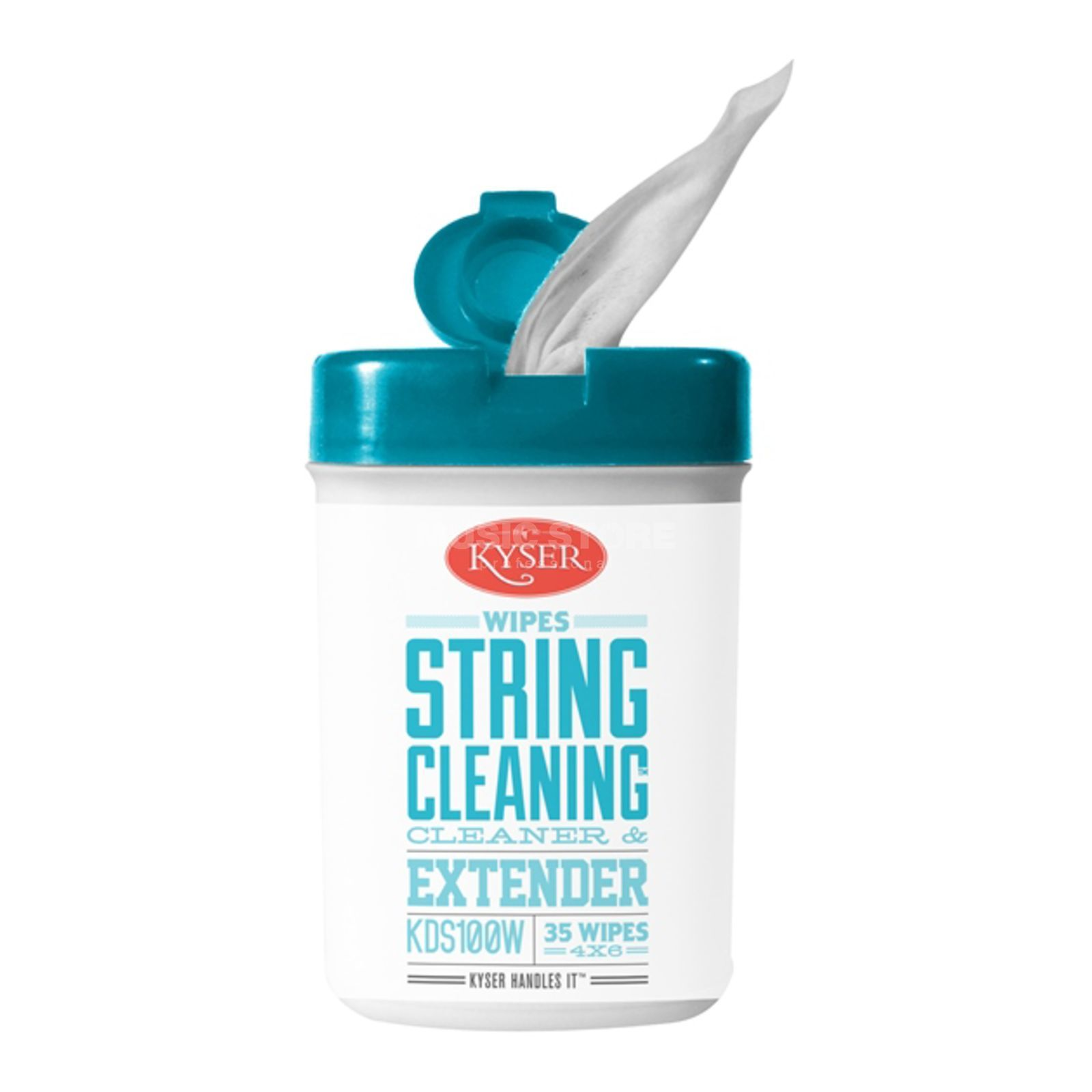 Kyser KDS100W String Cleaner Wipes Produktbild