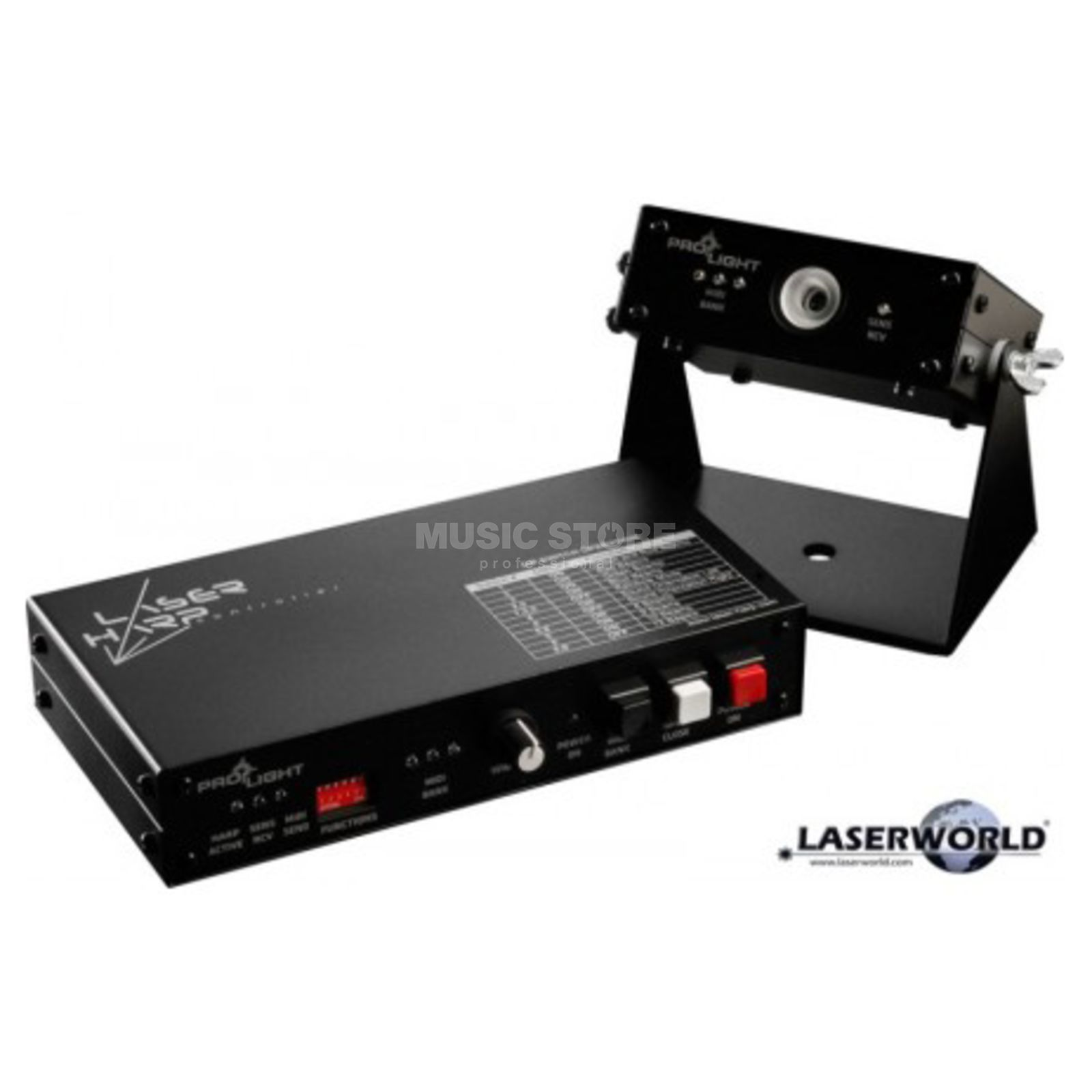 Laserworld Laser Harp Controller Laser-to-Midi-Controller Product Image