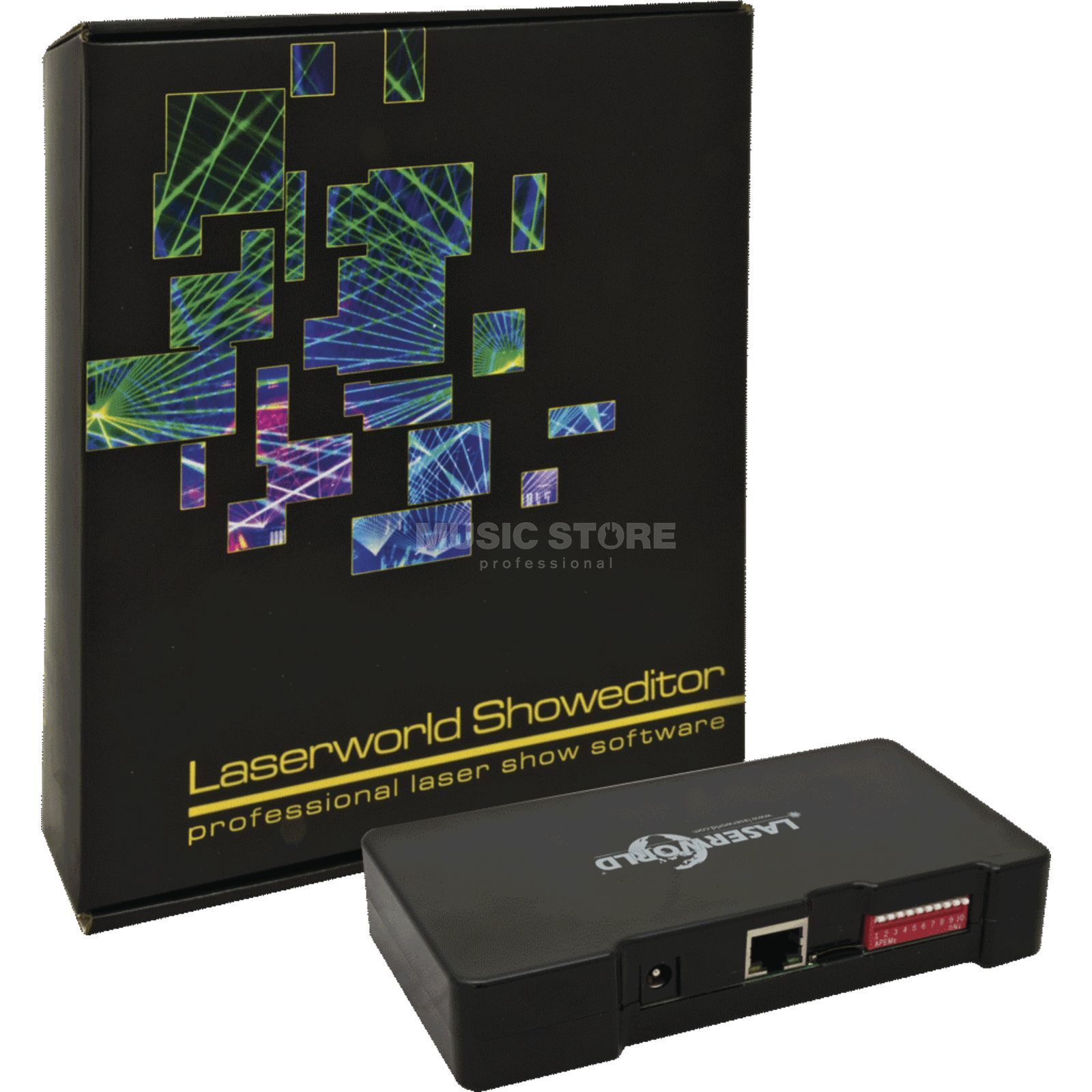 Laserworld SHOWEDITOR 2015 SET Lasershow Software Produktbillede
