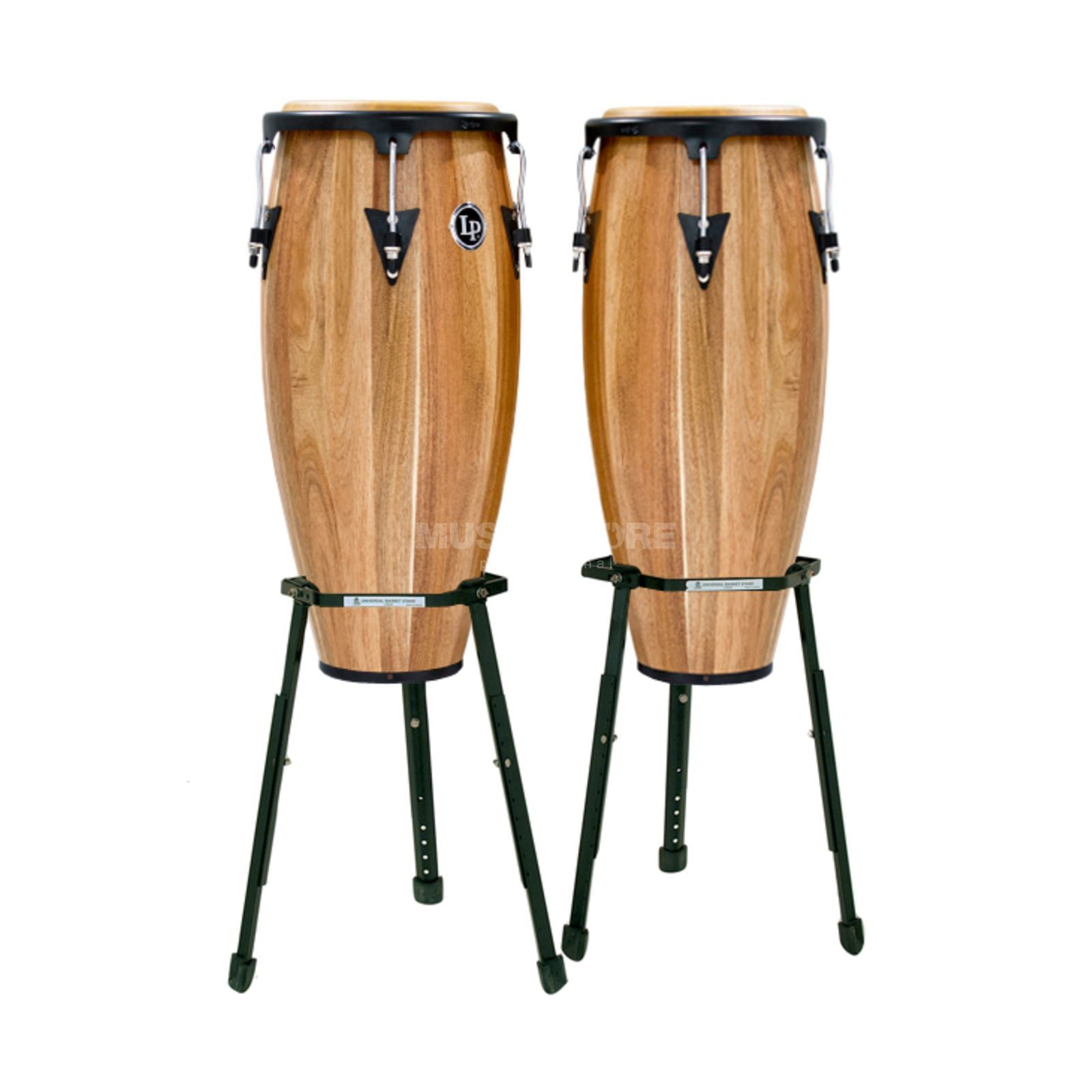 "Latin Percussion Aspire Conga Set LPA646B-SW, 10"" & 11"", Walnut Produktbild"