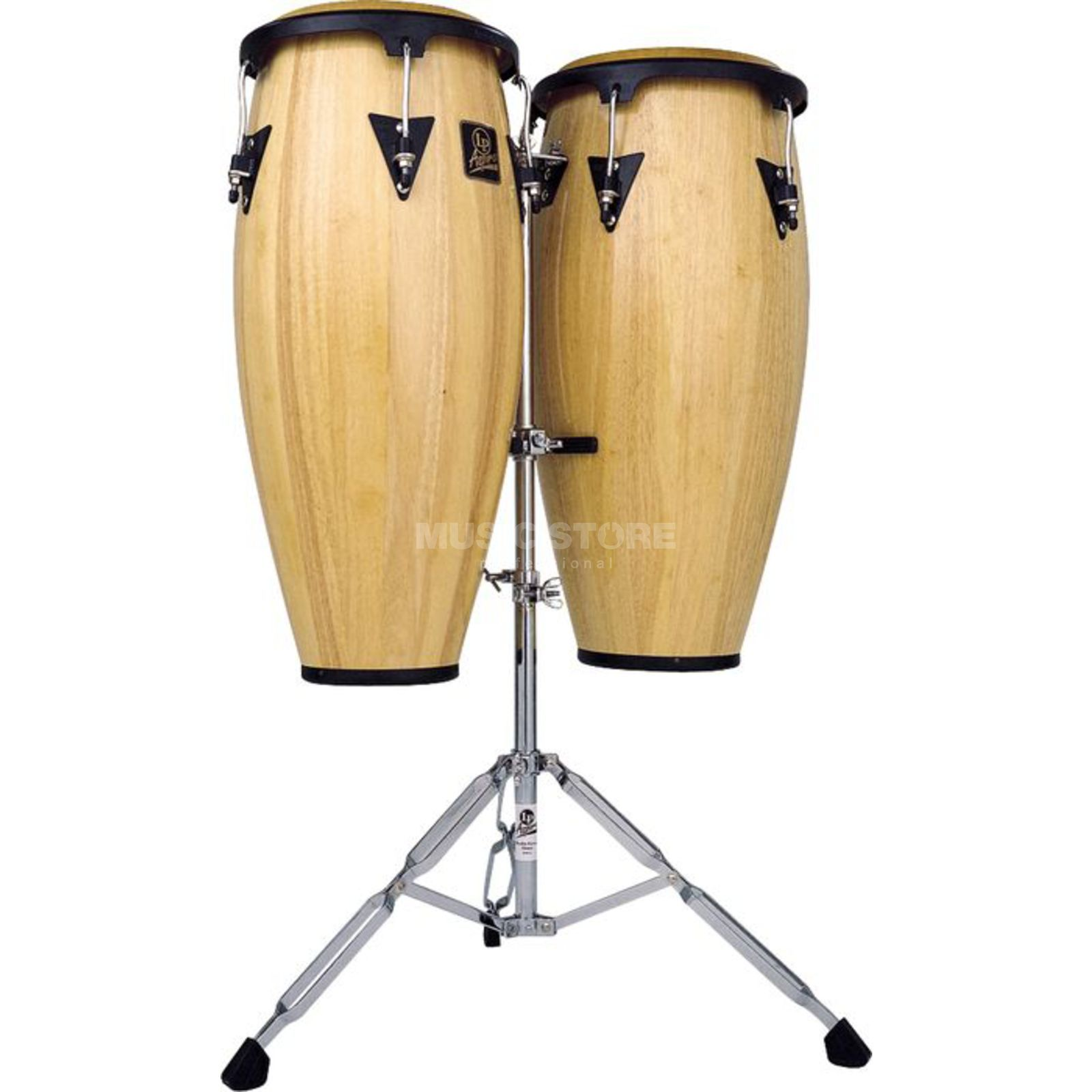 "Latin Percussion Aspire  Set de Congas LPA646-AW, 10""&11"", Natural Wood Imagem do produto"