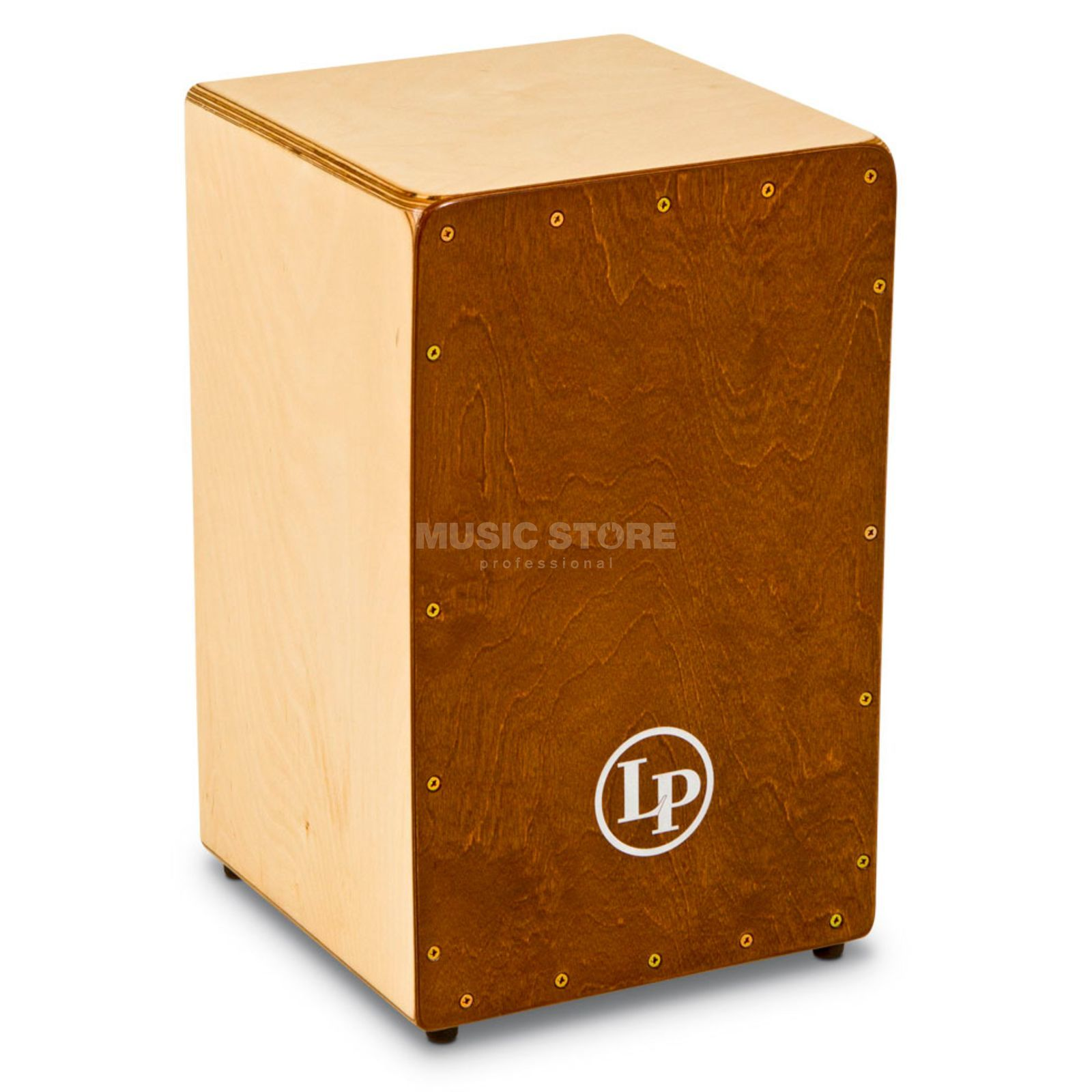 Latin Percussion Birch Cajon LP1422, Walnut Stain Produktbild