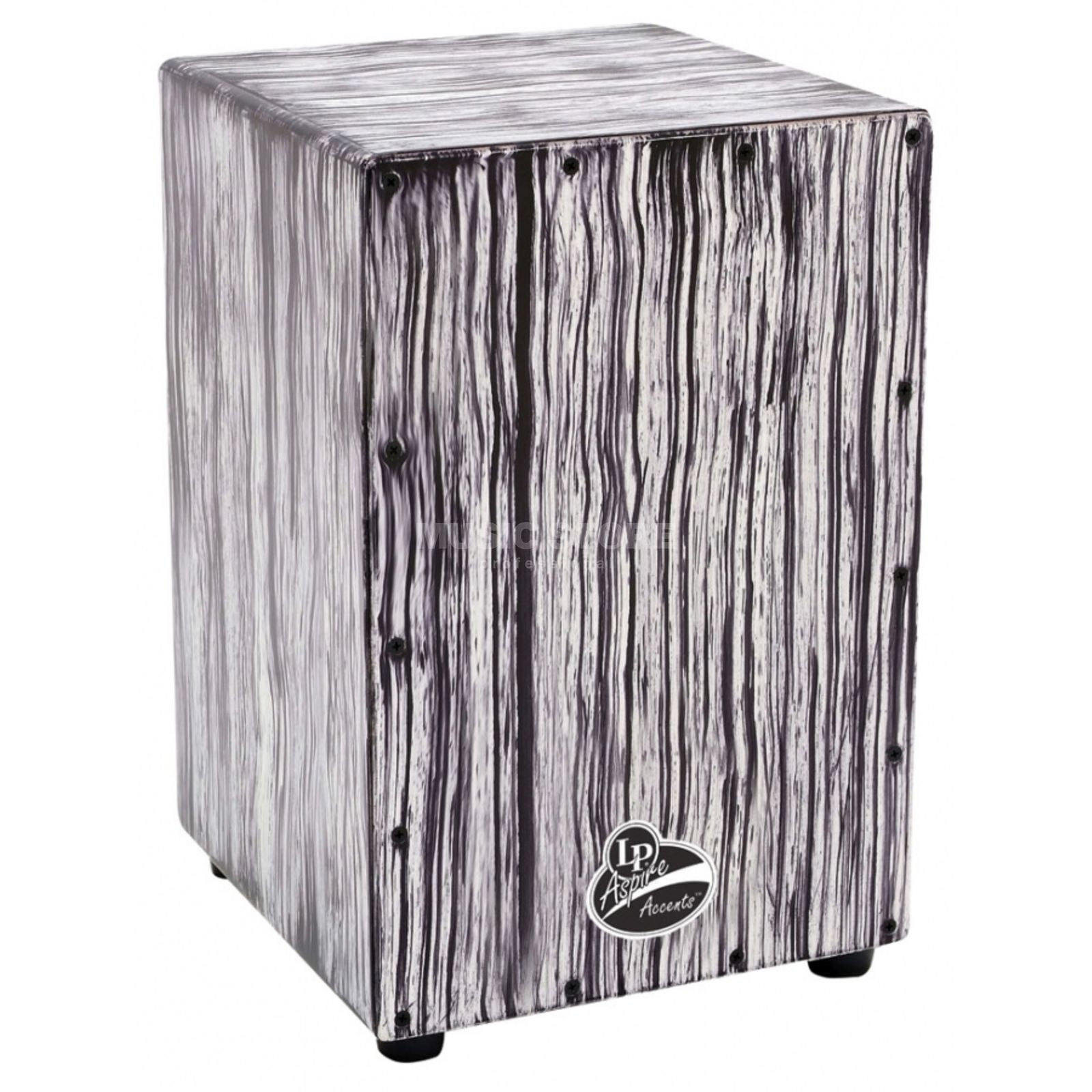 Latin Percussion Cajon Aspire Accent LPA1332, White Streak Produktbild