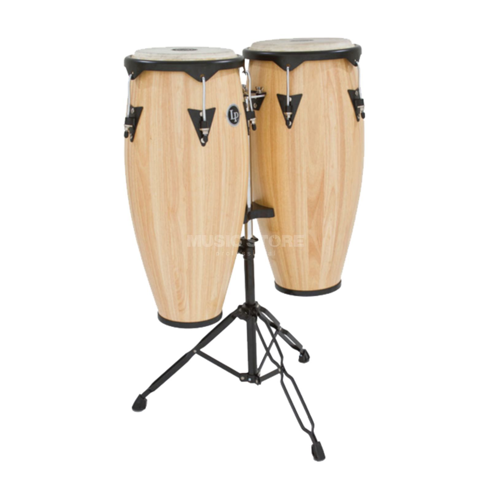 "Latin Percussion City Conga Set LP646NY-AW, 10"" & 11"", Natural Produktbild"
