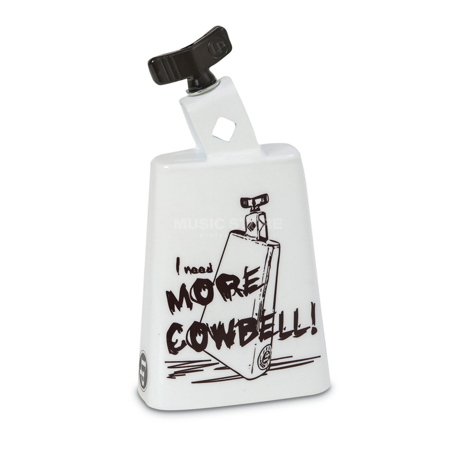 Latin Percussion Cowbell Collect-A-Bell LP204C, More Cowbell #MC Produktbillede