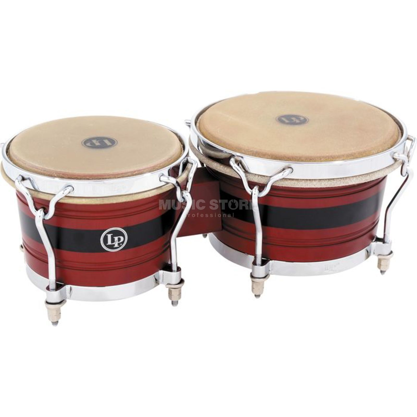 "Latin Percussion Legend Bongos LPL201A-JR, Johnny ""Dandy"" Rodriguez Produktbillede"