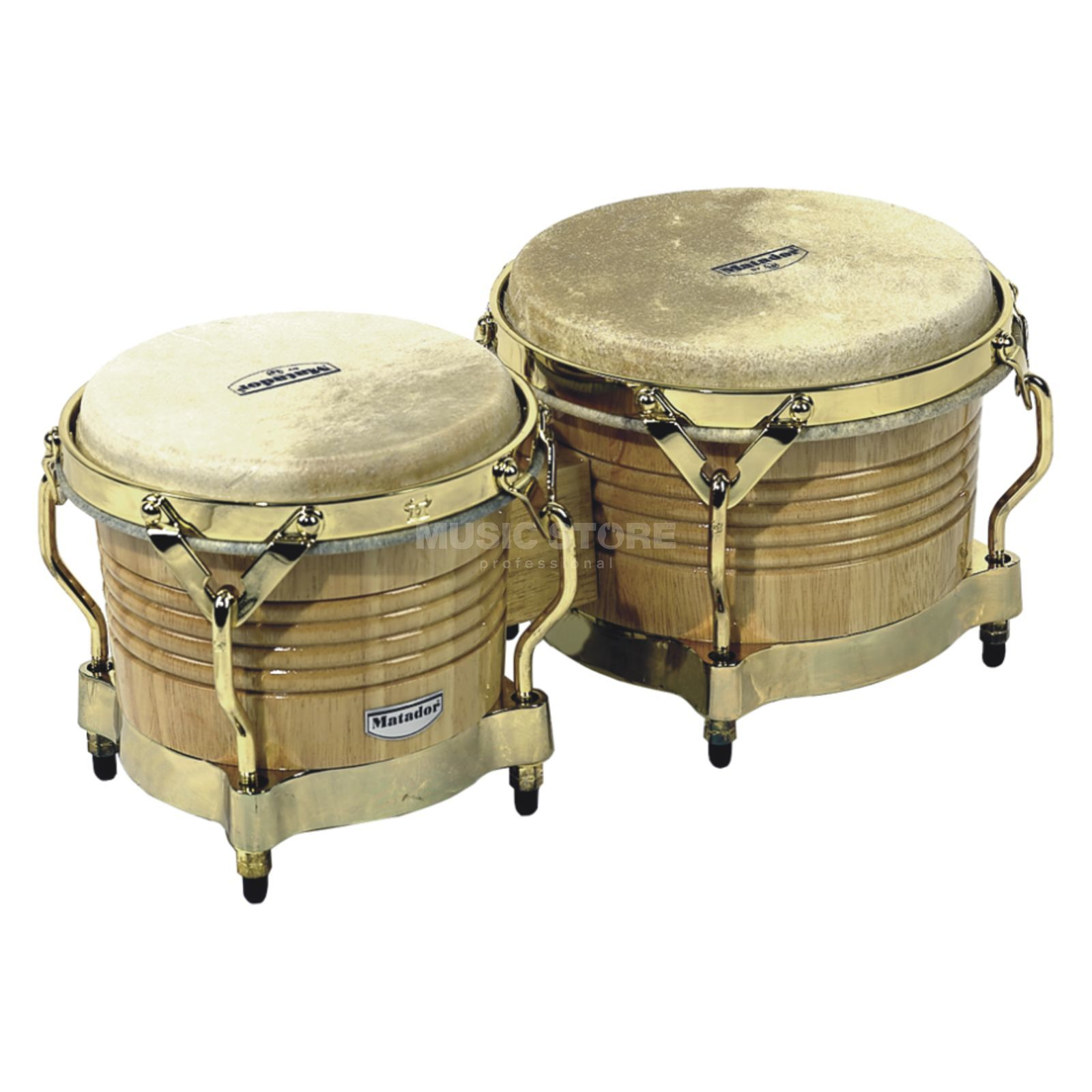 "Latin Percussion Matador Bongos M201-AW, 7 1/4""+ 8 5/8"", Natural Produktbild"